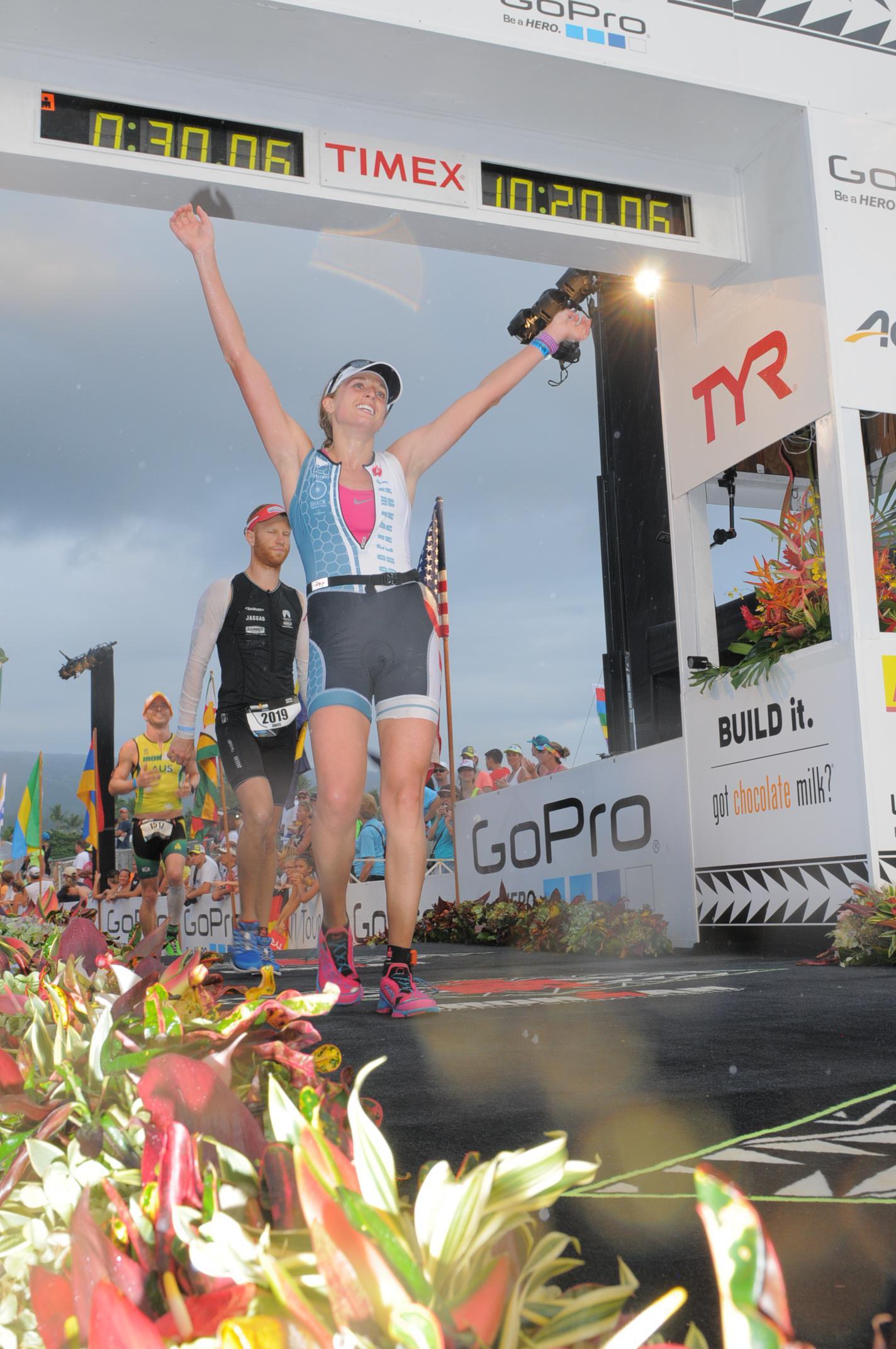 Emily Sherrard, You are an Ironman!