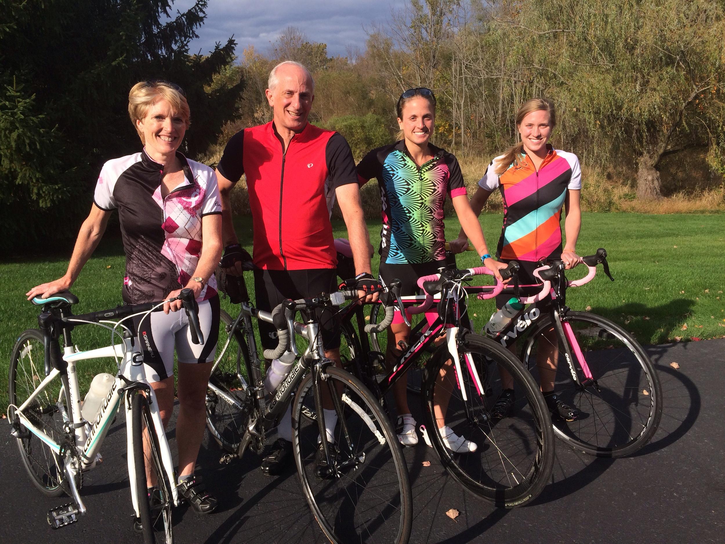 Sherrard Family bike ride