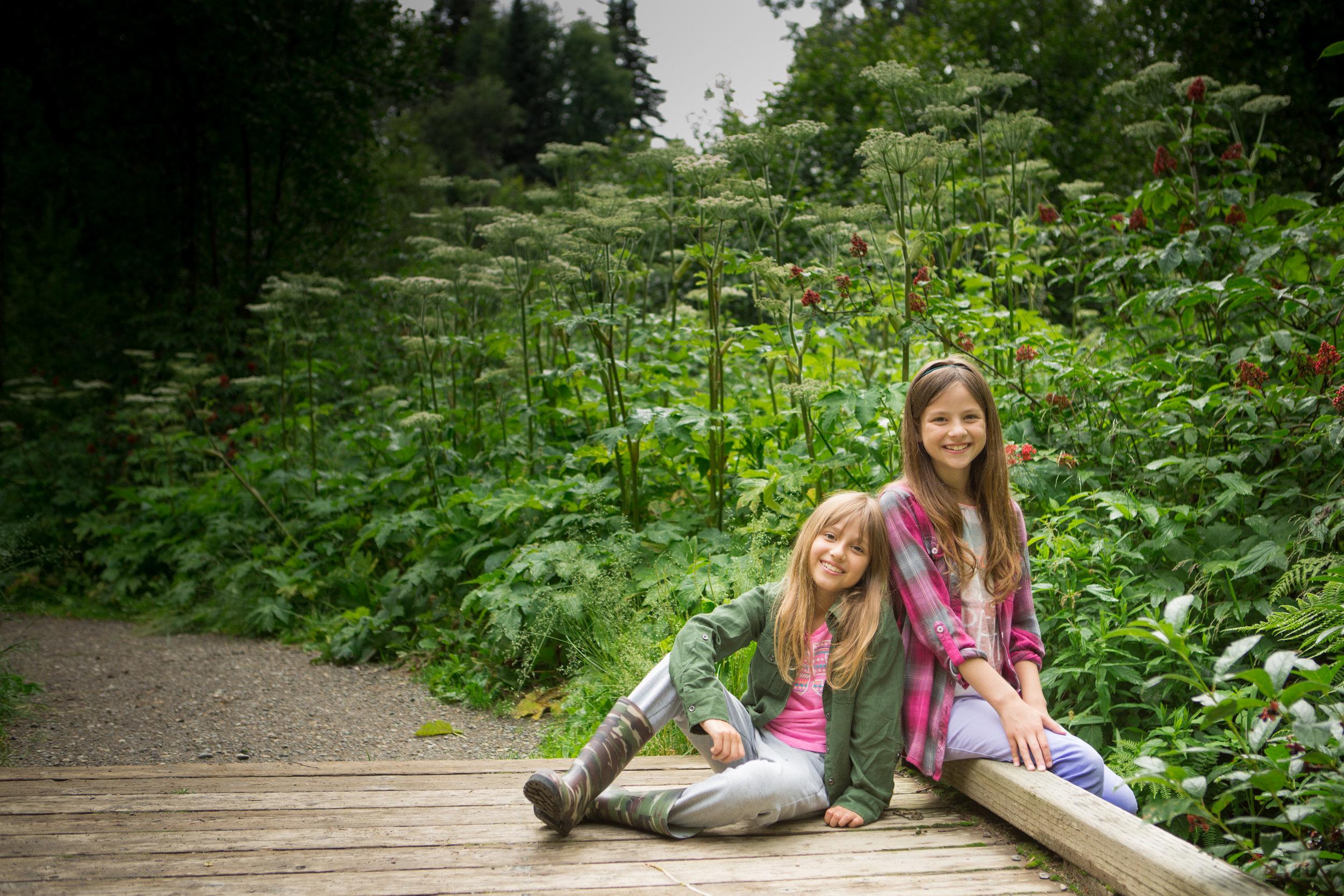 My beautiful daughters