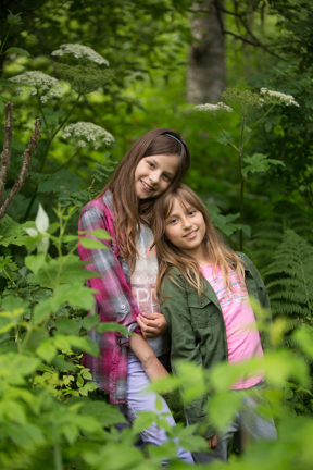 sisters and nature