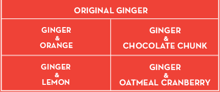 Ginger Cookie Flavors