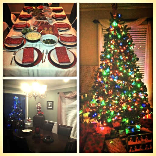 Grown Up Christmases are here. Suddenly I'm responsible for cooking and decorating. It can be stressful, but I do love it. Most important is recognizing what really matters, and it's not what your house looks like, but who you're spending the day with.