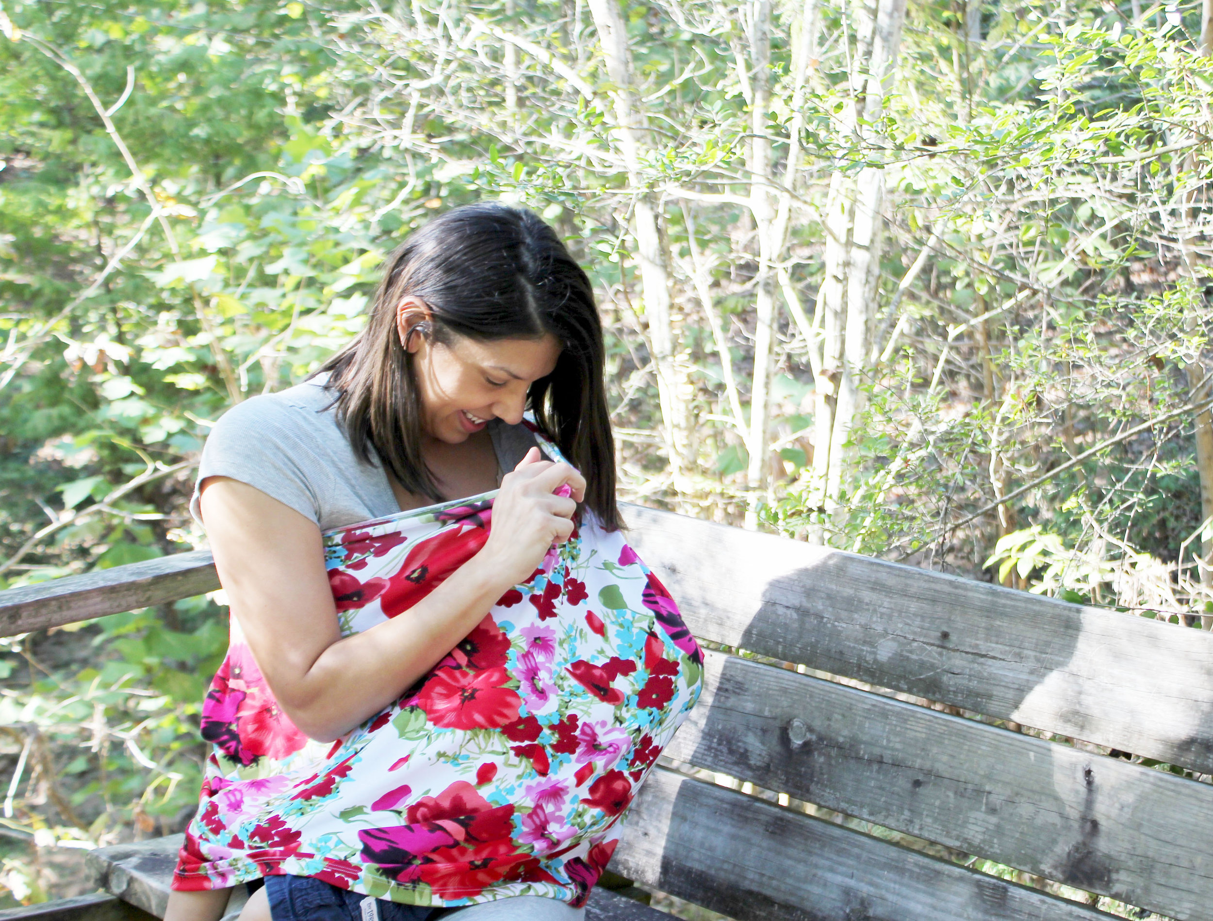 Cristina Polk Designs A Fashionable Way For Mother's To Breast Feed By Creating Cover With A Cause, Lil Haven