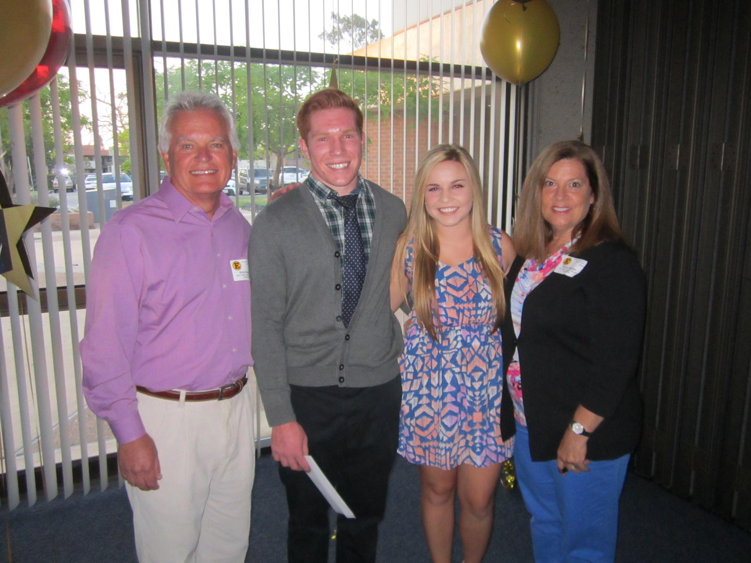 """Brooke Thomas [2013]   Brian """"Bubba"""" Kapko Memorial Scholarship  Estancia High School Scholarship Awards    Colby Koste [2013]   Brian """"Bubba"""" Kapko Memorial Scholarship  Estancia High School Scholarship Awards"""