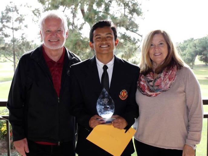 "Wilmer Sanchez [2015]   Brian ""Bubba"" Kapko Football Scholarship  EHS Varsity Football Team Awards"
