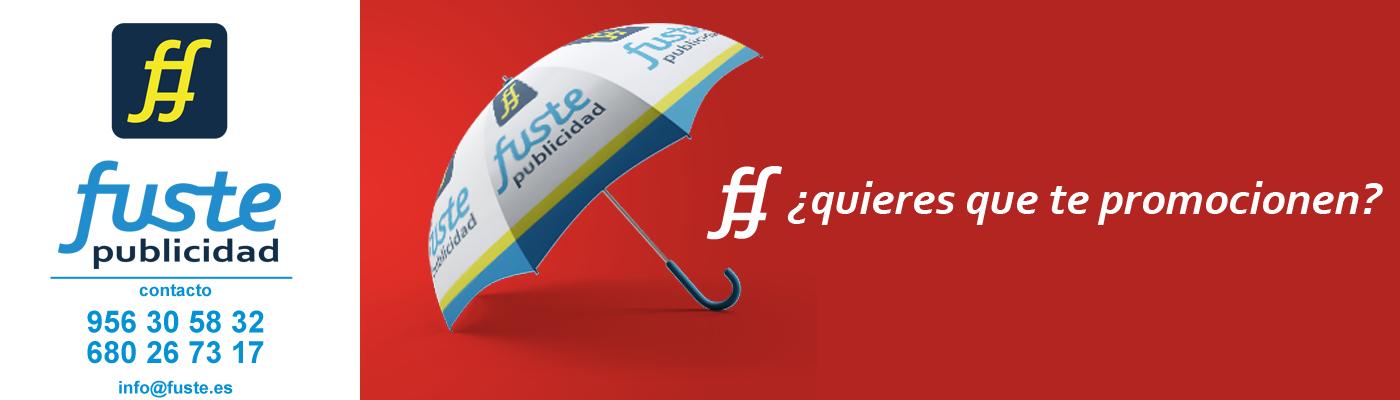 Fuste Publicidad Merchandising Jerez Paraguas