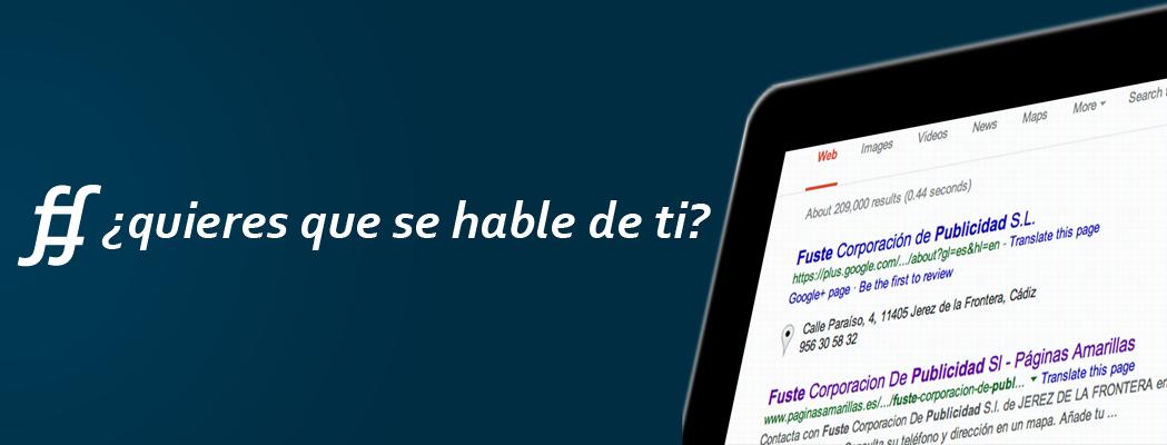 SEO Promocion WEB Jerez