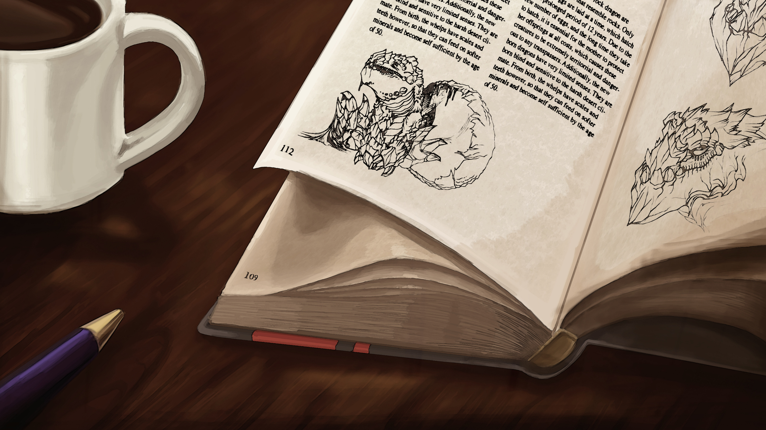 """""""About Dragons"""" Book Concept"""