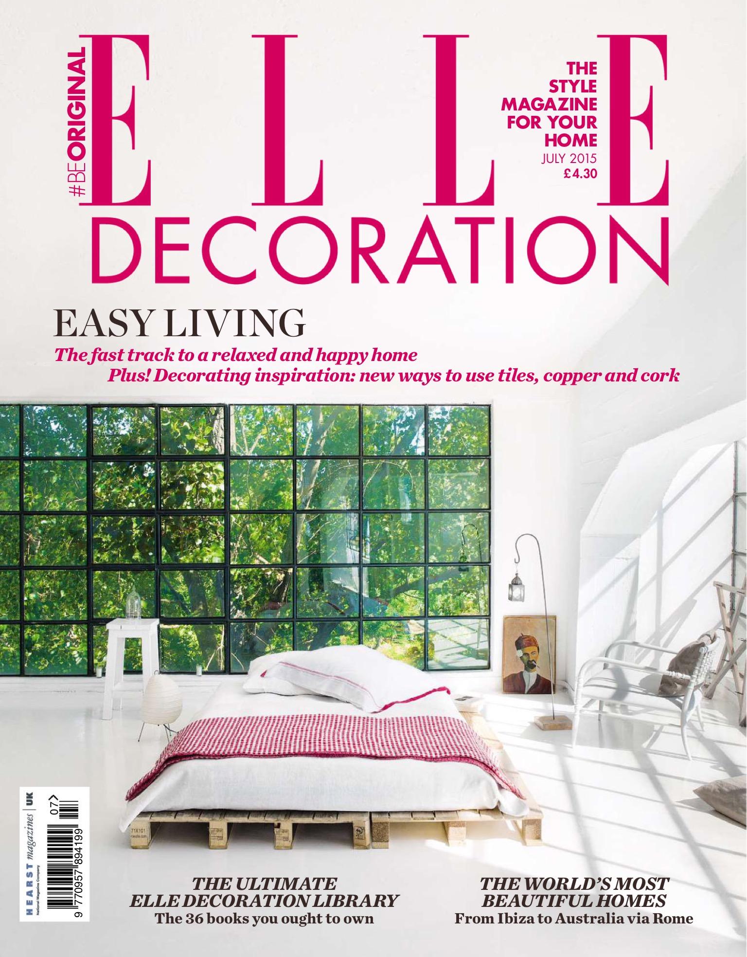 Elle Decoration UK July 2015