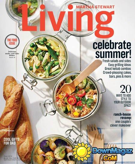 Martha Stewart Living July 2016