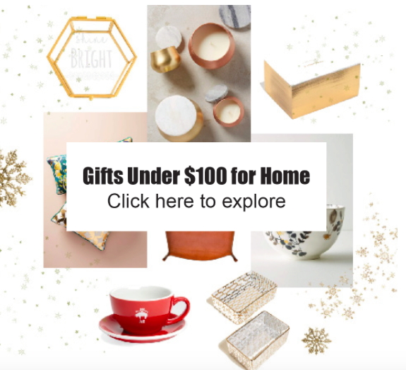 Some last-minute inspiration to find the perfect present for your home decor obsessed relatives or friends.  xoxo yours in style  AB