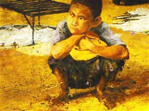 Pintura por Hyatt Moore 03 2009