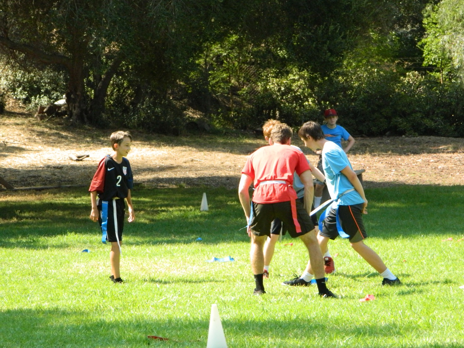 and lots of outdoor space for camp sports and games (many of which we invent).
