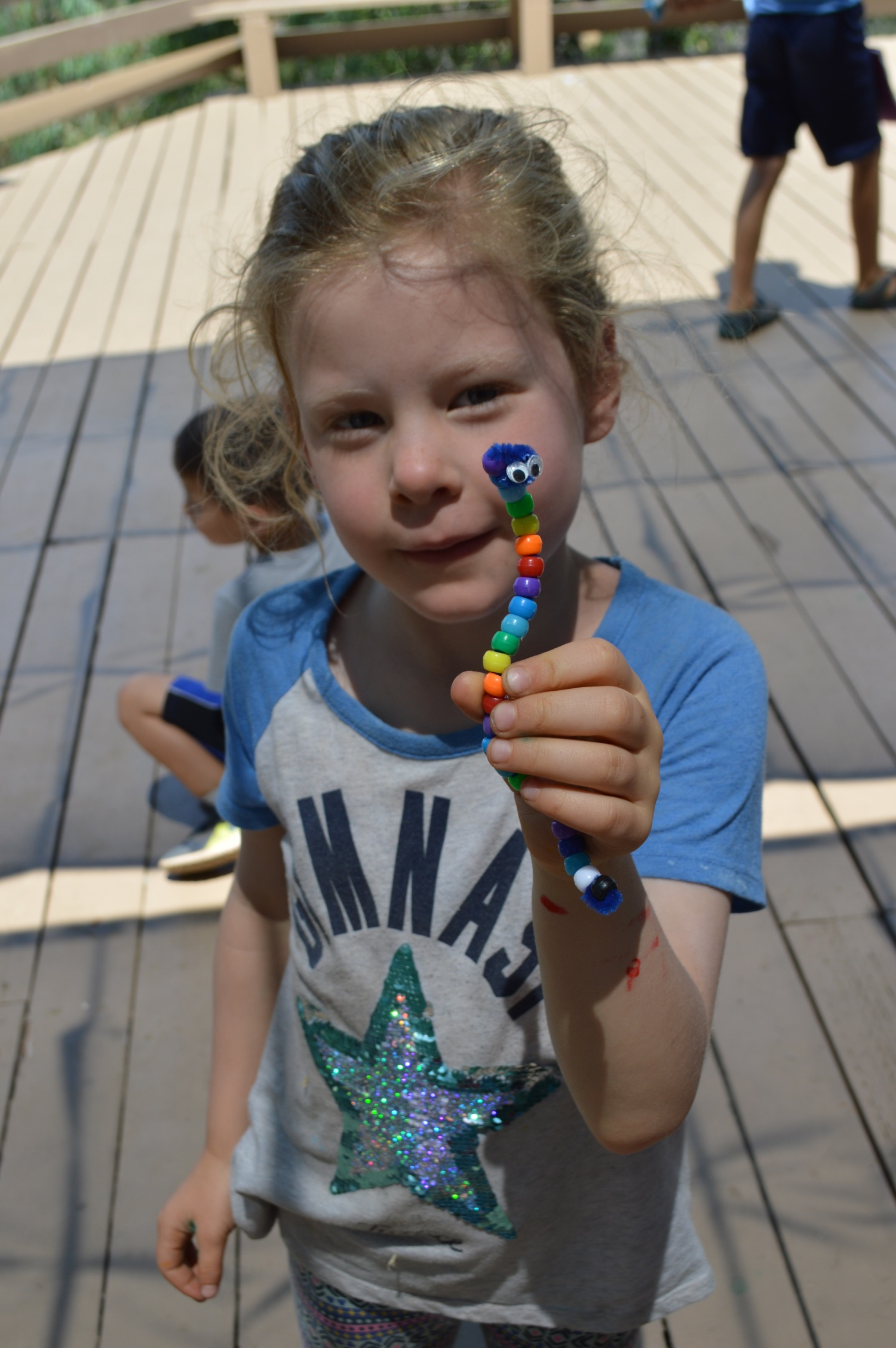 Campers might make a beaded friend,