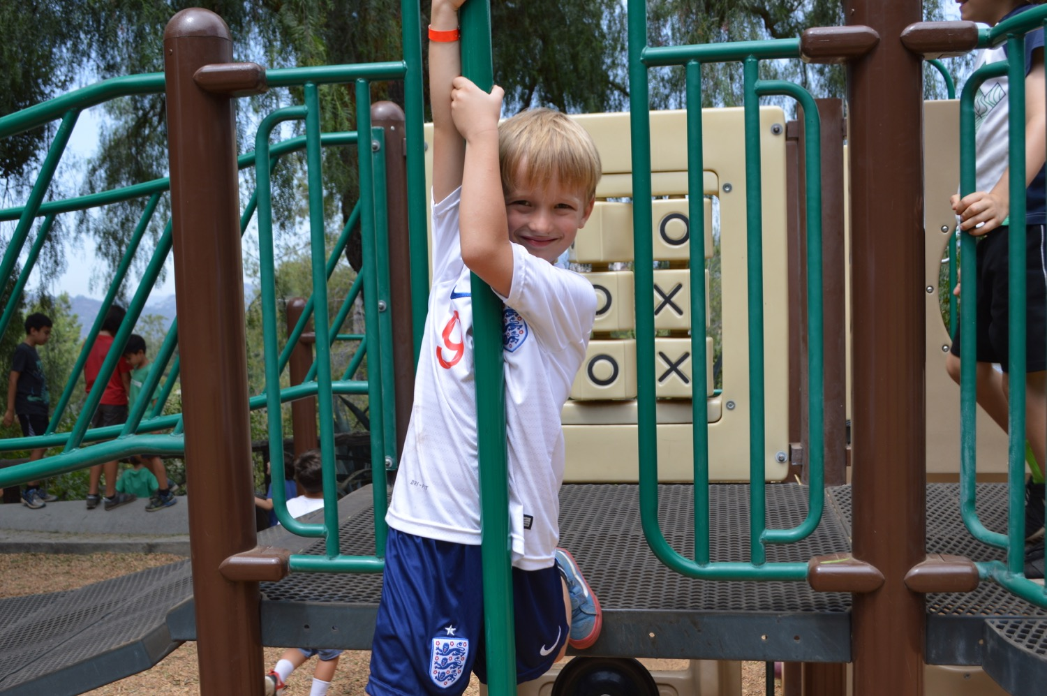 time on the playground,