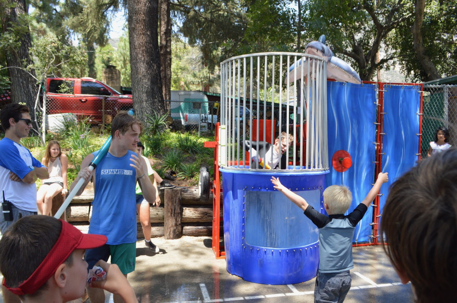 """We also have """"special"""" camp days, like The Great Summerkids Carnival, an annual tradition,"""