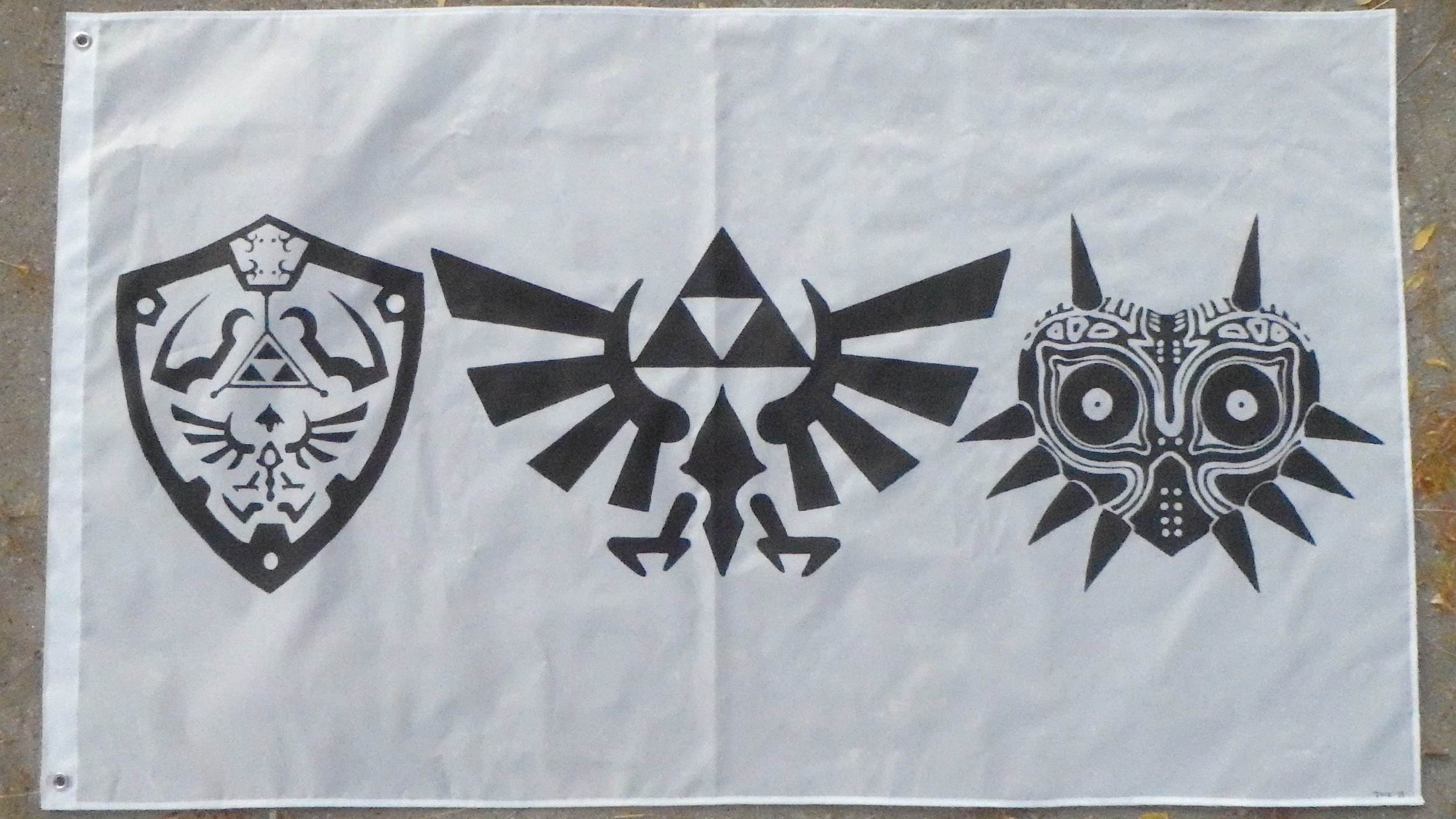 Tock Custom - Legend of Zelda Flag