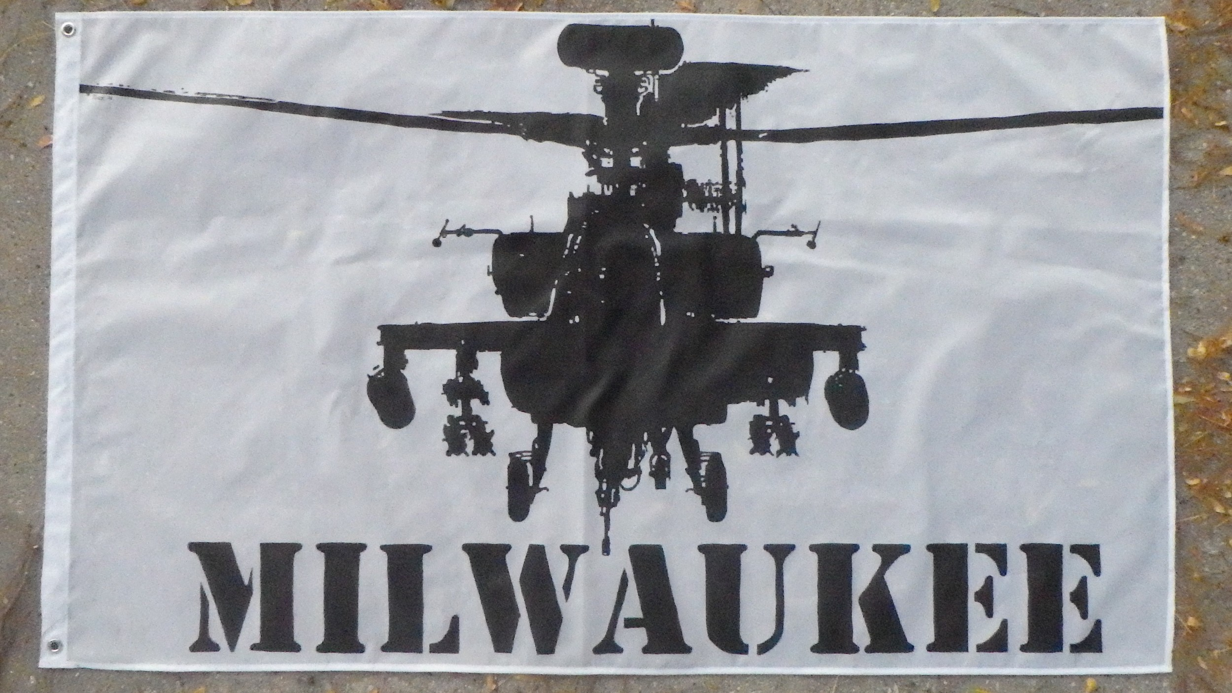 Tock Custom - Milwaukee Apache Flag