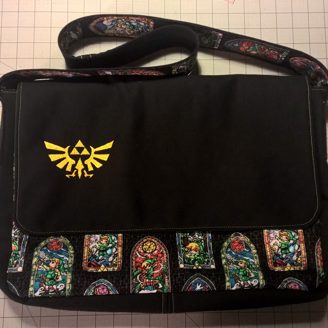 Tock Custom - Old School Zelda Bag