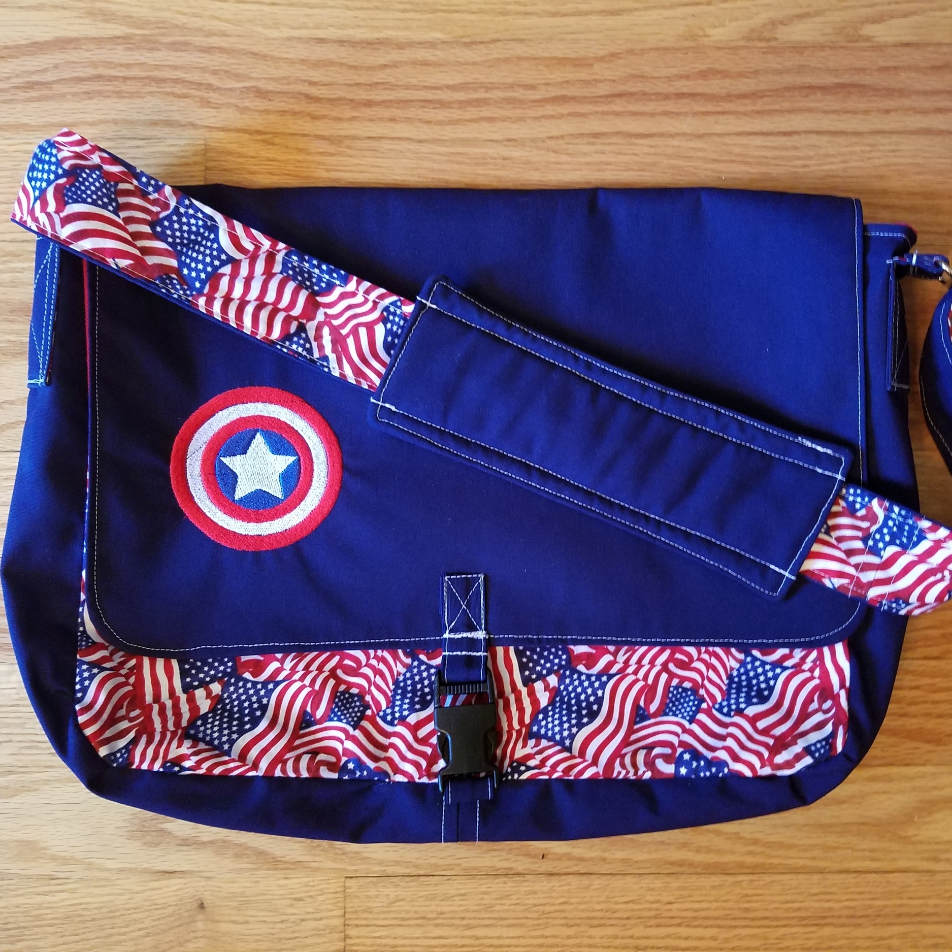 Tock Custom - Captain America Bag