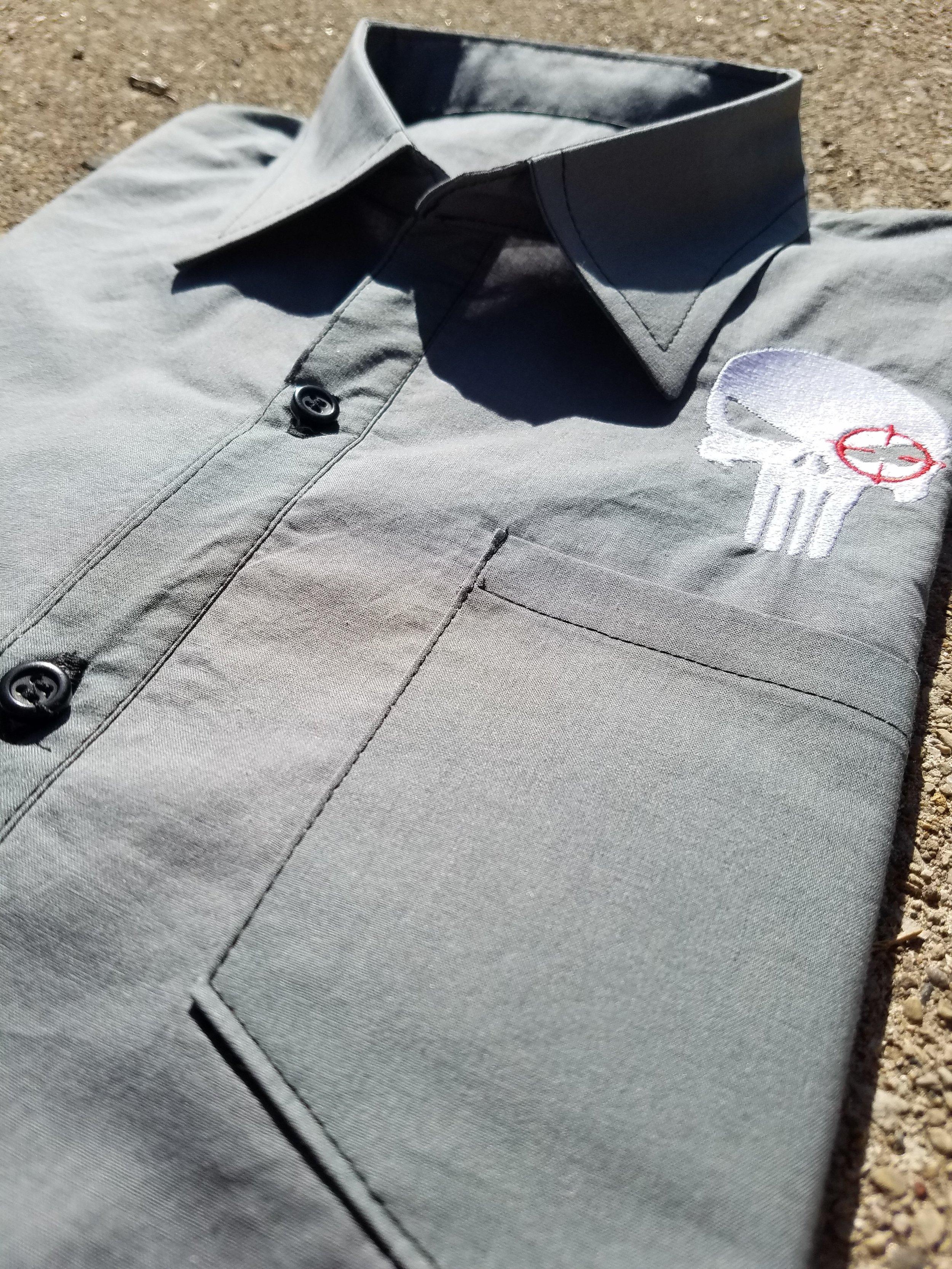 Handmade Punisher Shirt
