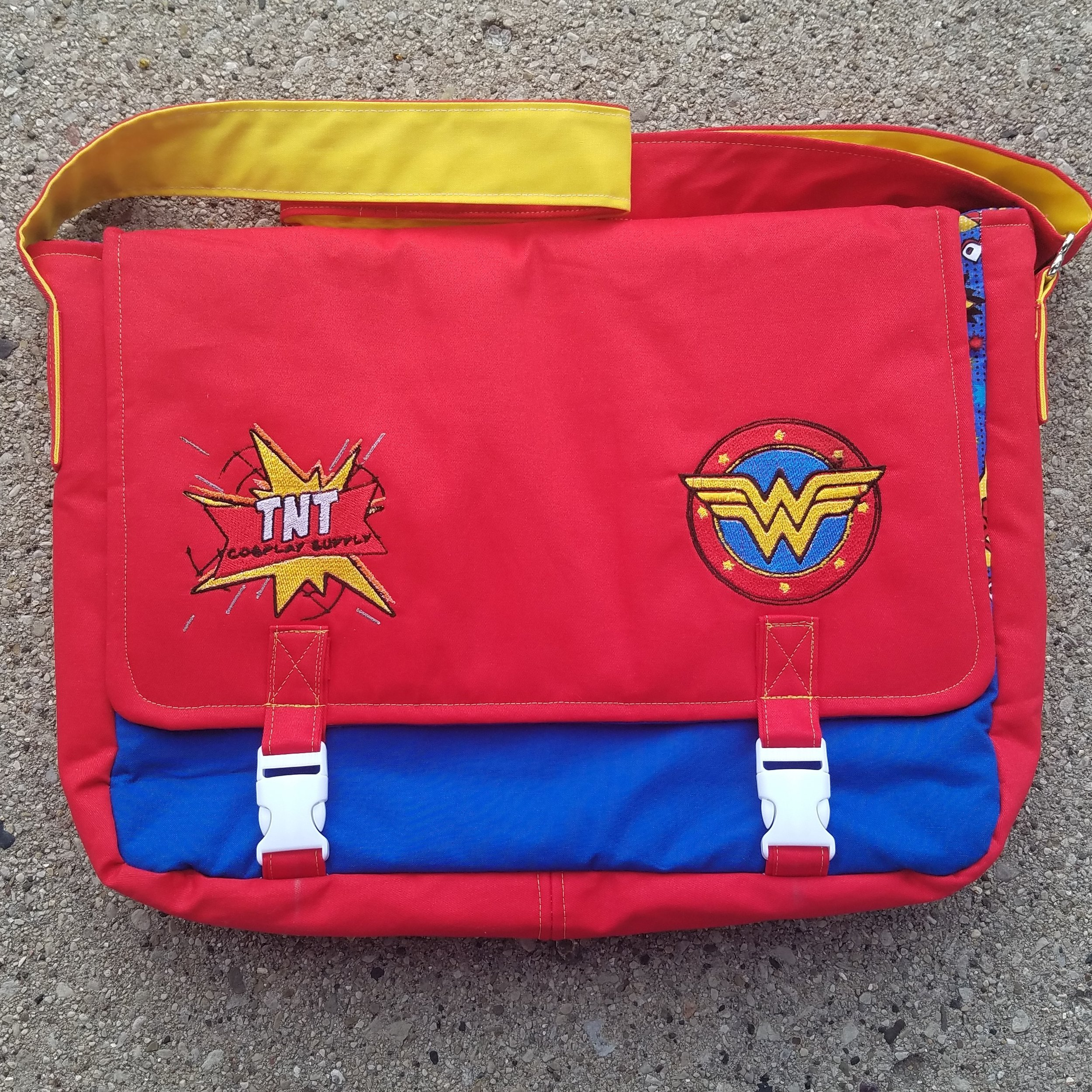 Tock Custom - Wonder Woman TNT Cosplay Bag
