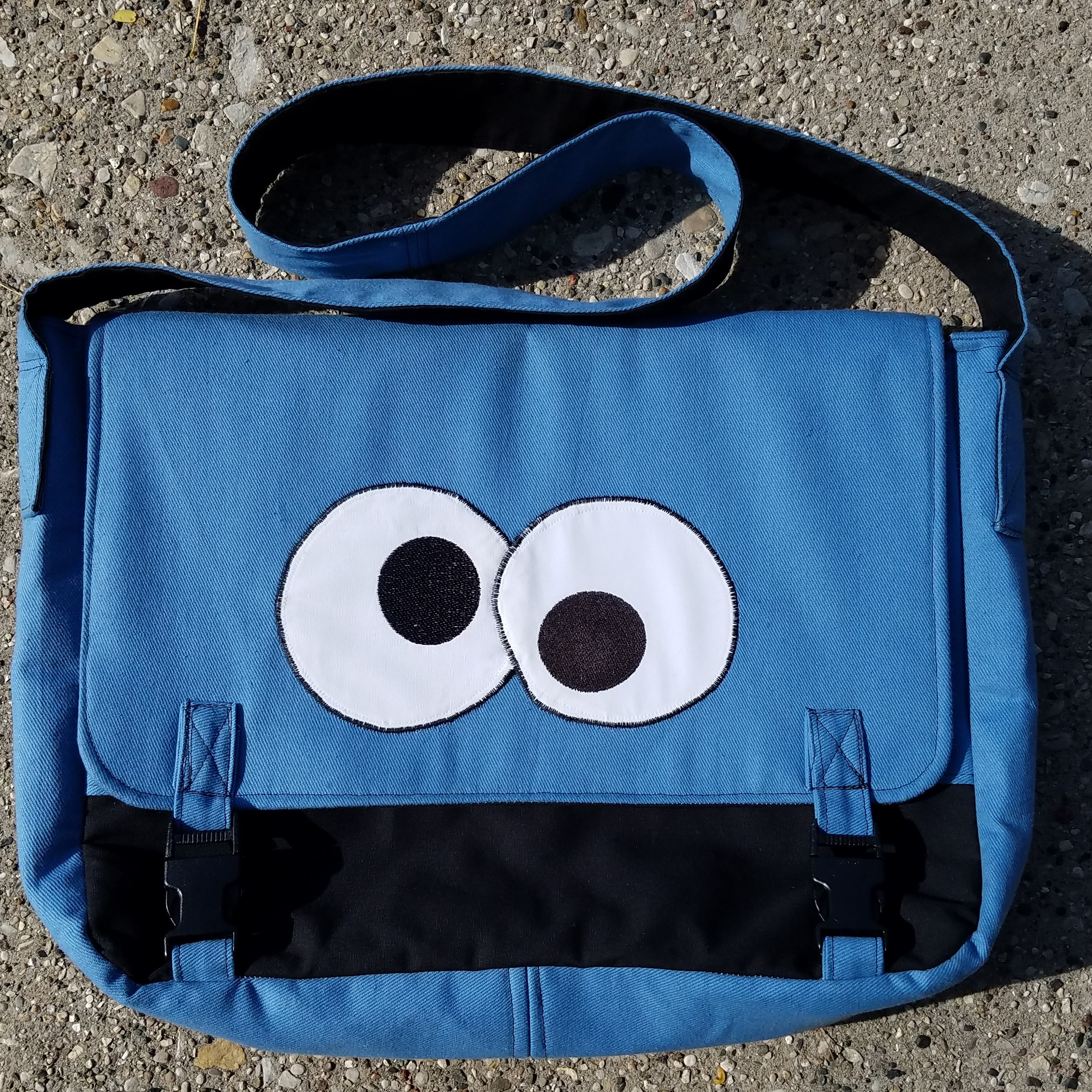 Tock Custom - Cookie Monster Bag
