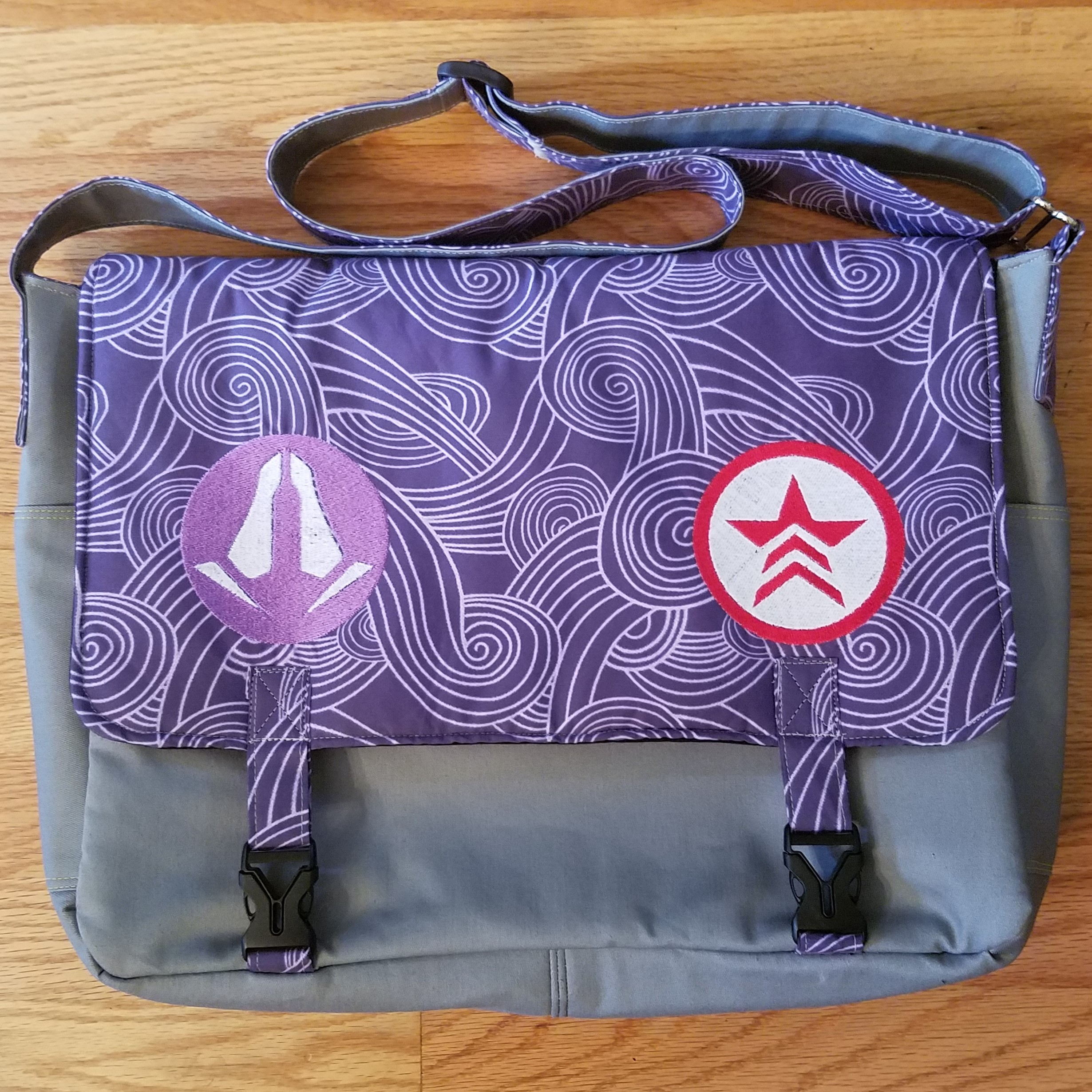 Tock Custom - Mass Effect Tali Bag