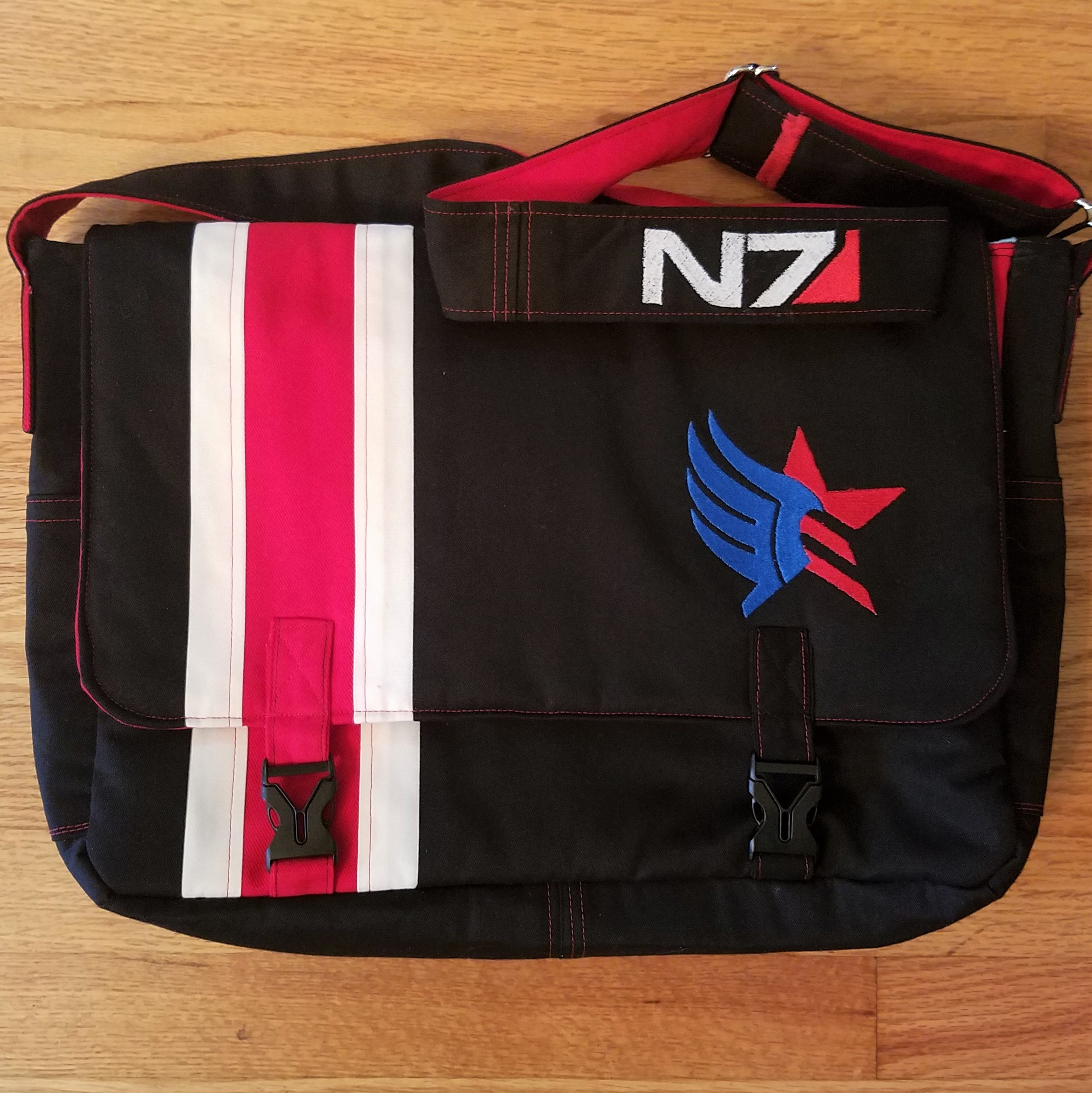 Tock Custom - Mass Effect Bag