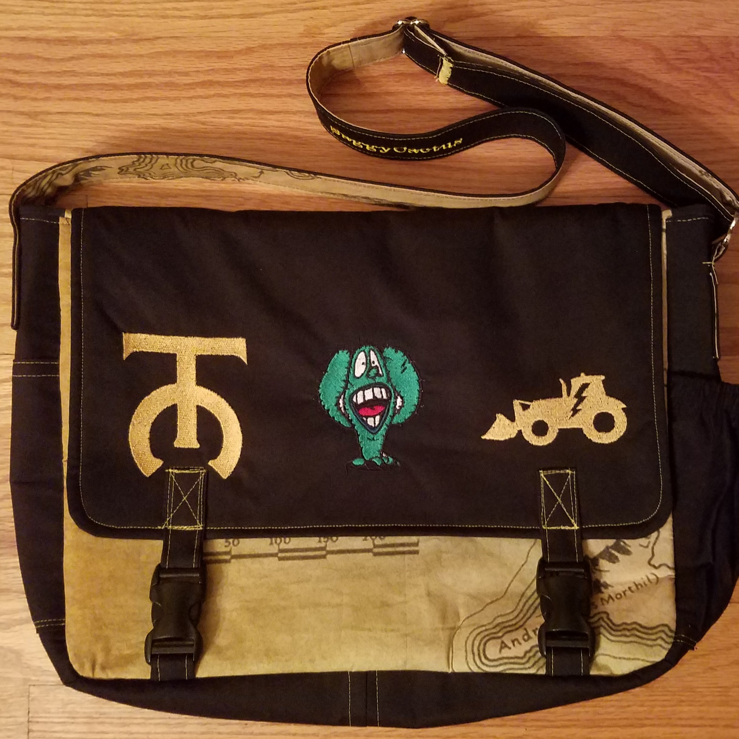Tock Custom - Saggy Cactus Bag