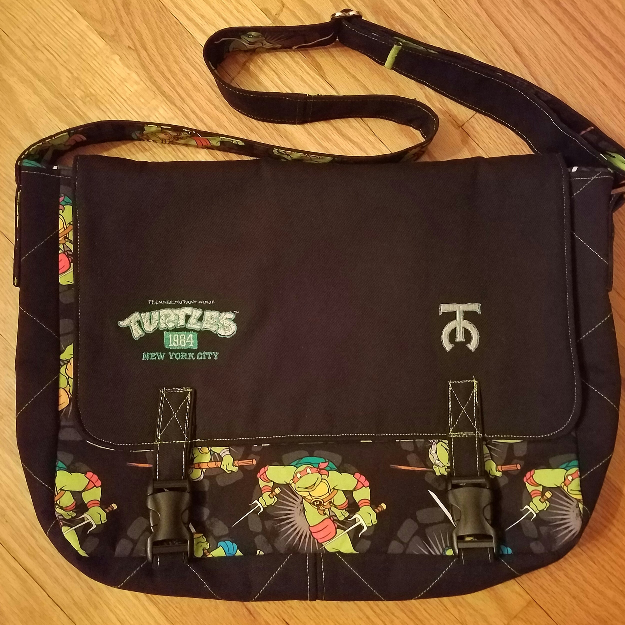 Tock Custom TMNT Bag