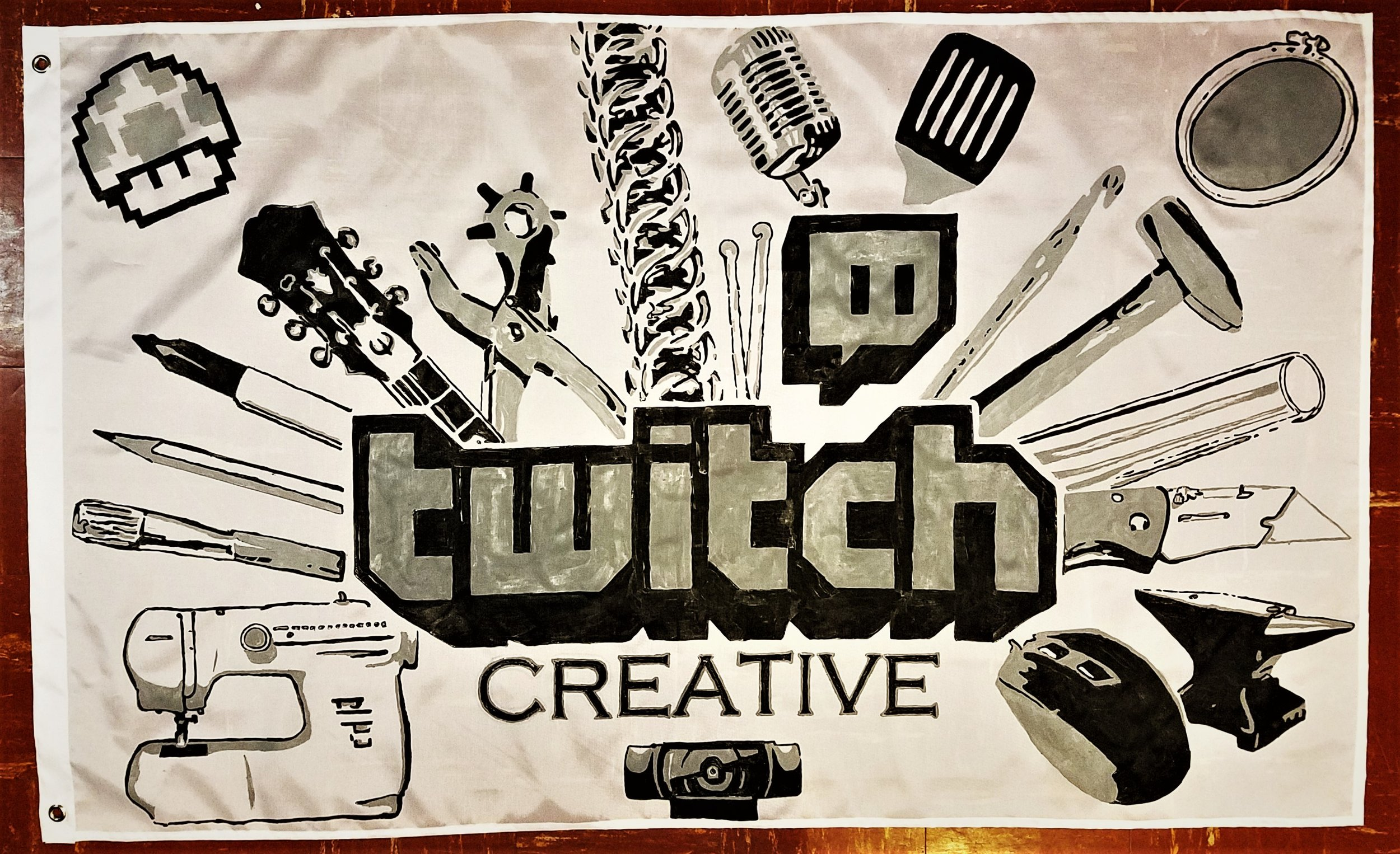 Tock Custom - Twitch Creative Flag