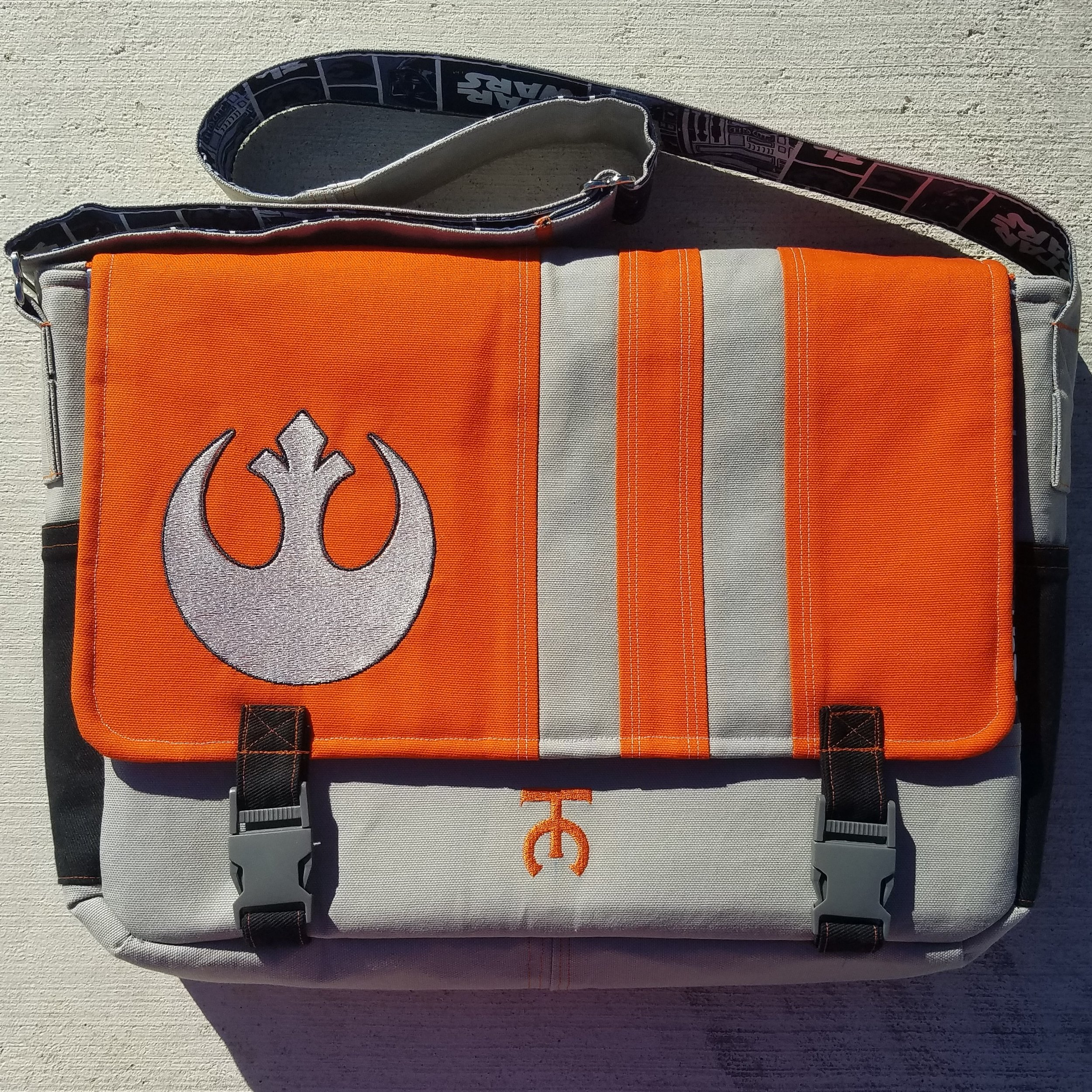 Tock Custom - Star Wars Rebel Alliance Bag