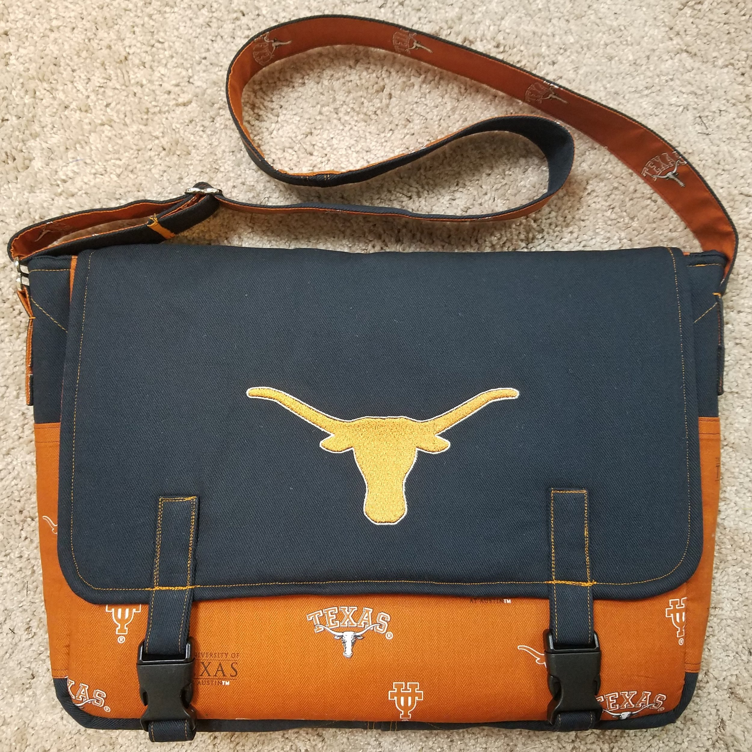 Tock Custom - Texas Longhorns Bag