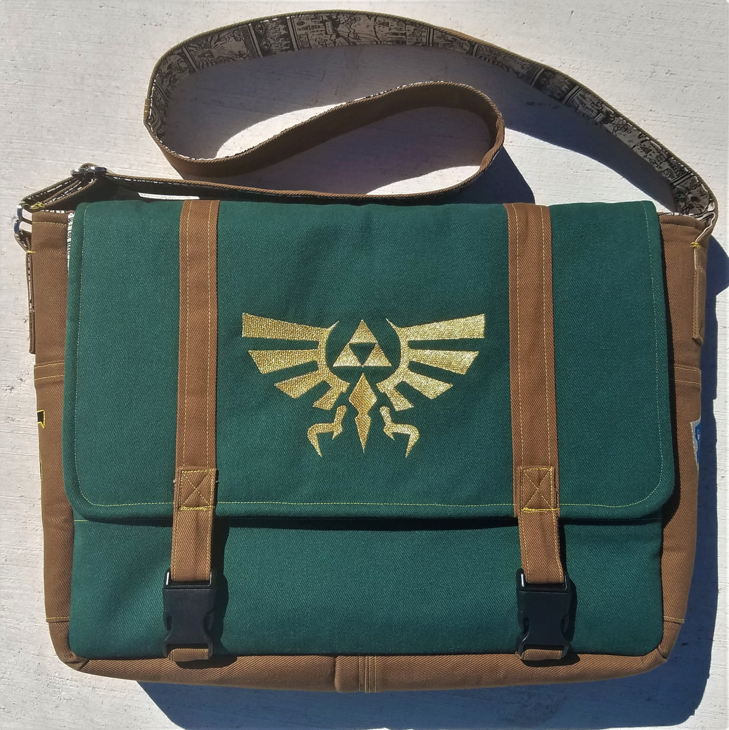 Tock Custom - Legend of Zelda Messenger Bag