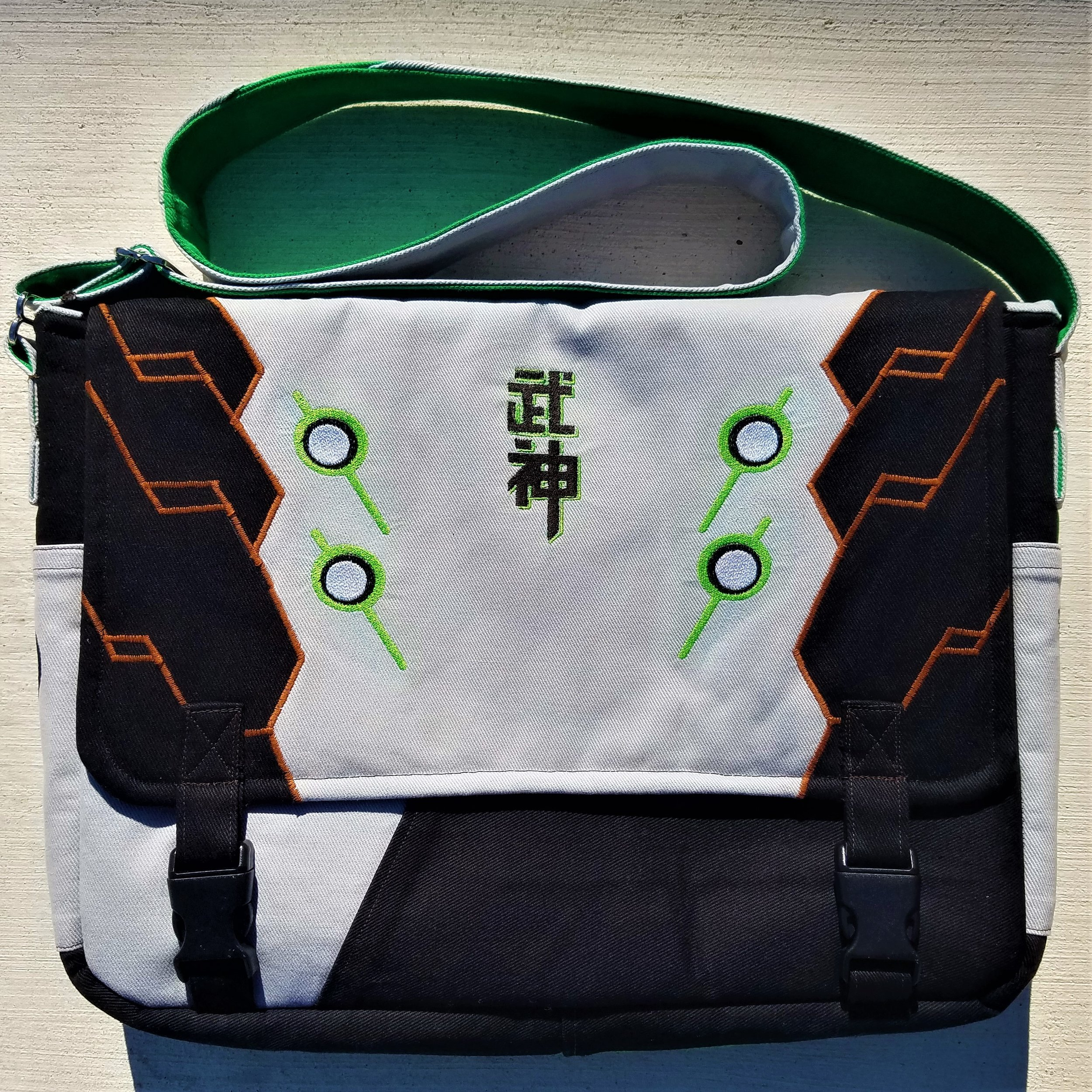 Tock Custom - Overwatch Genji Bag