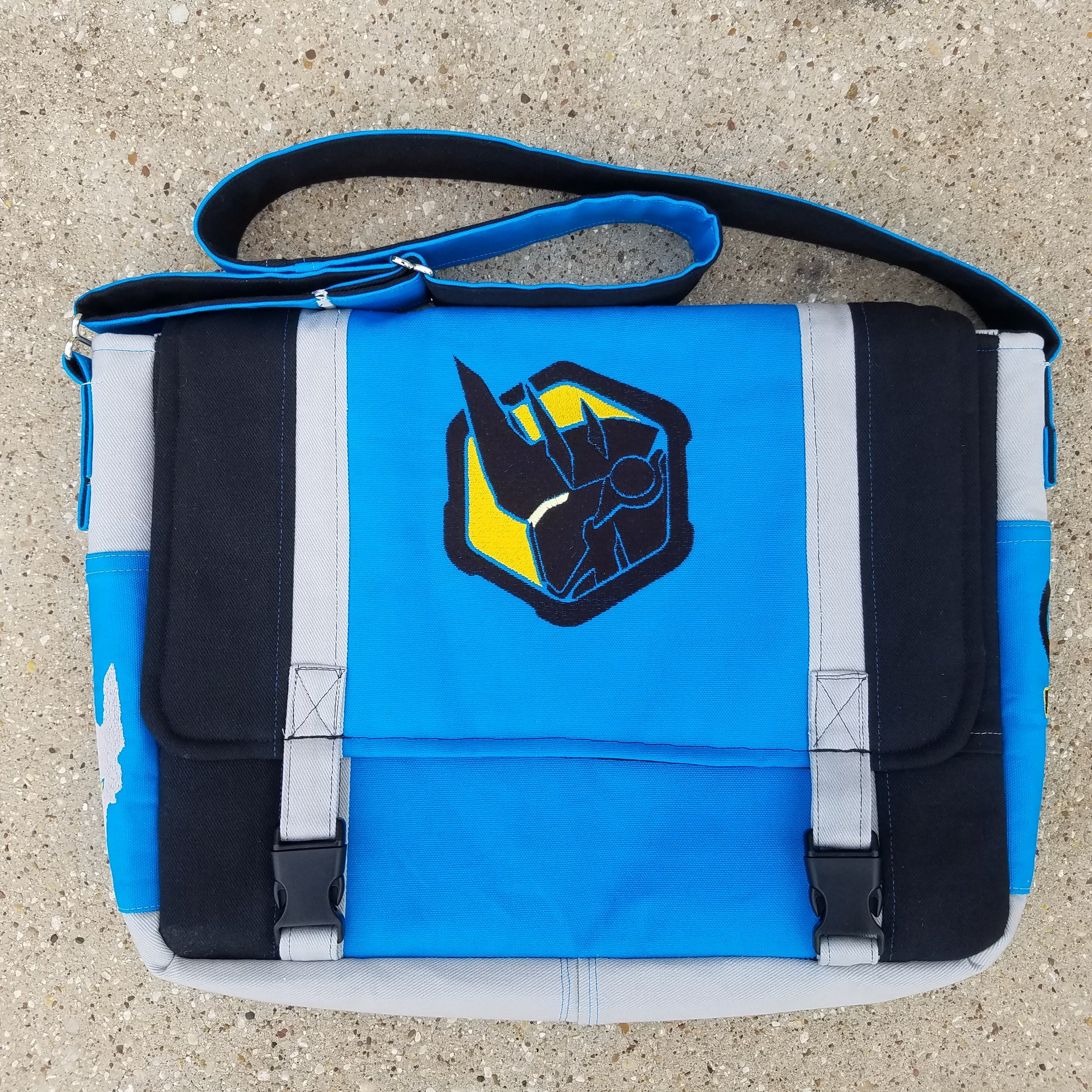 Tock Custom - Overwatch Reinhardt Messenger Bag