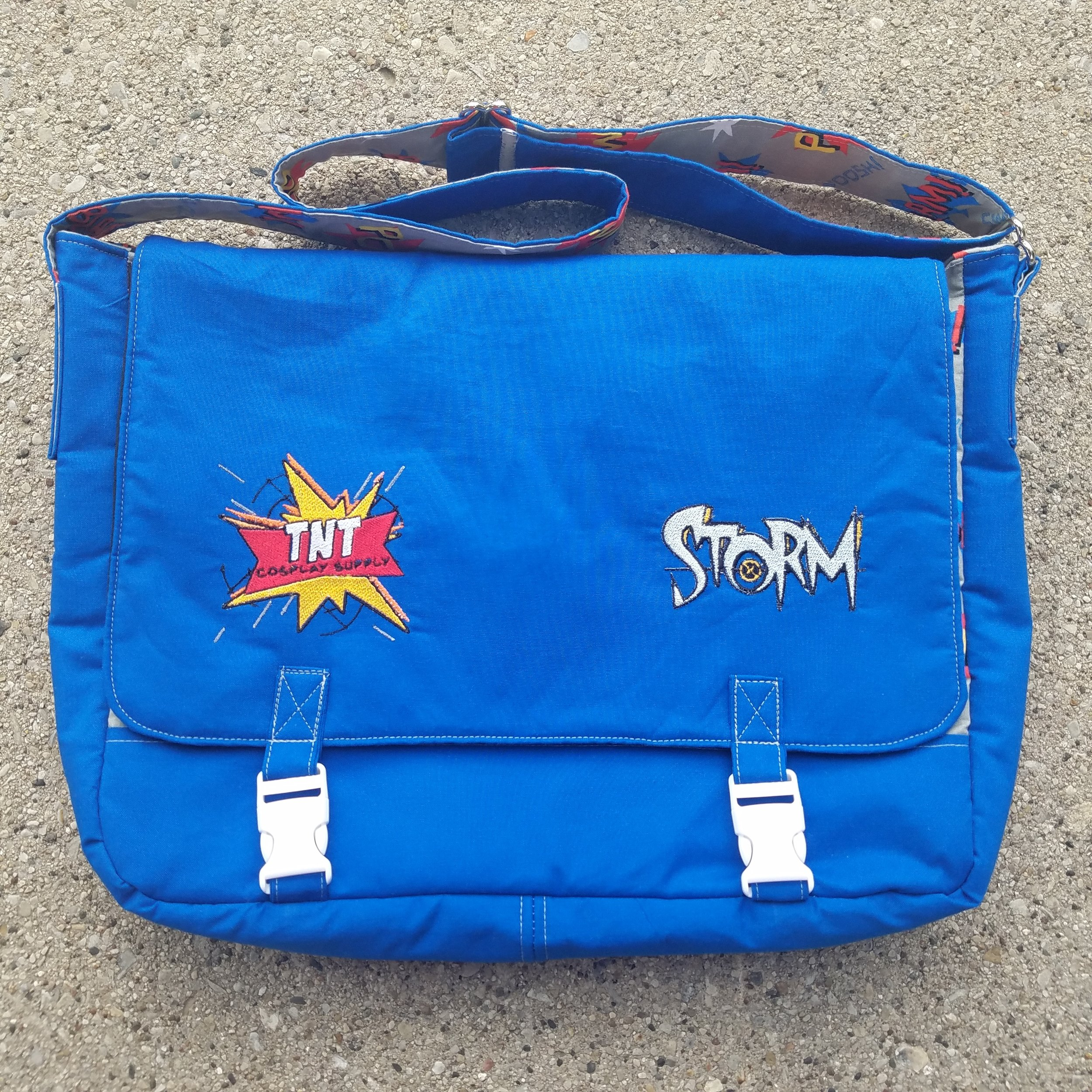 Tock Custom - TNT Cosplay XMEN Storm Bag
