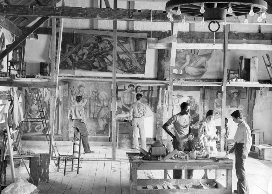 Fresco Barn, 1947