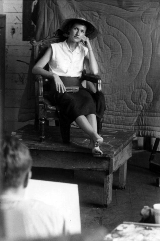 Life drawing class, 1955