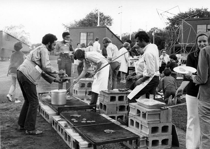Barbecue, 1970