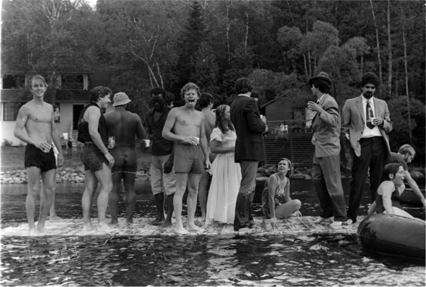 Lake Wesserunsett, 1977