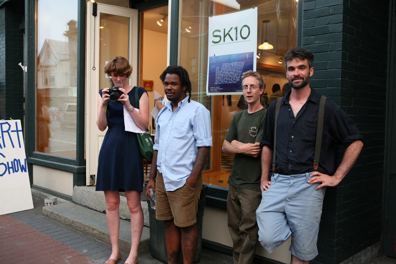 SK10 exhibition opening, 2010
