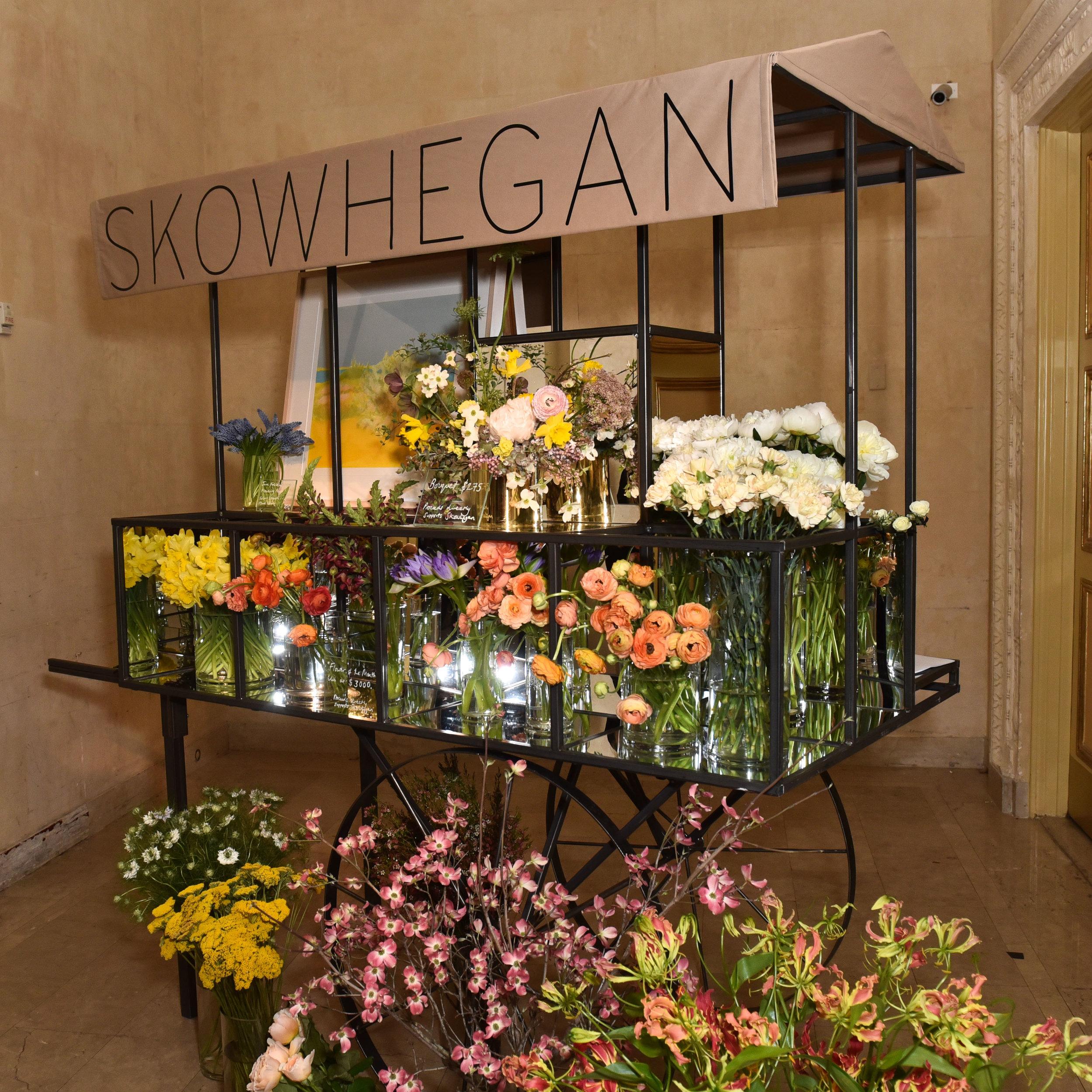 Skowhegan Flower Cart by Saipua
