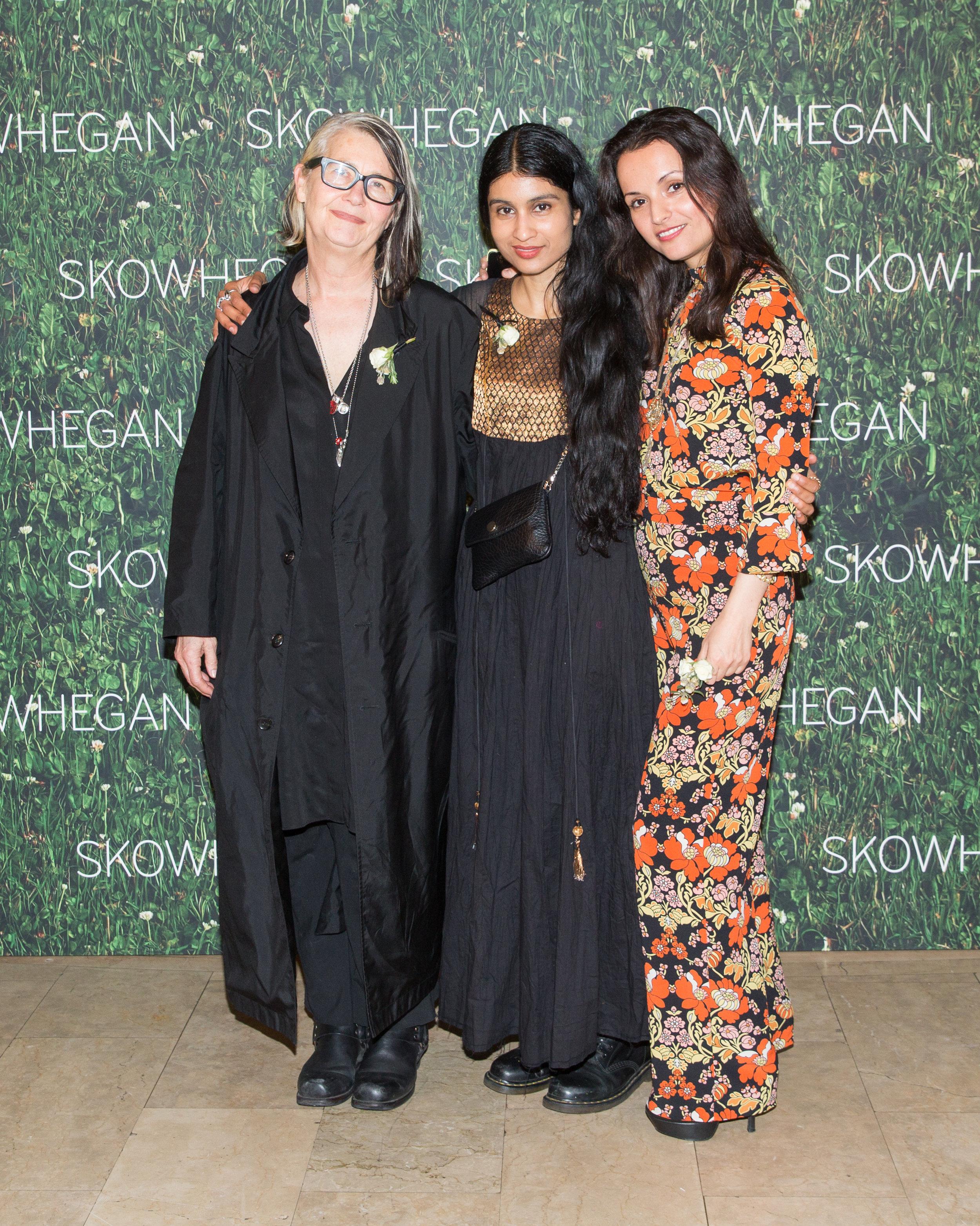 Marlene McCarty, Baseera Khan, Irini Miga