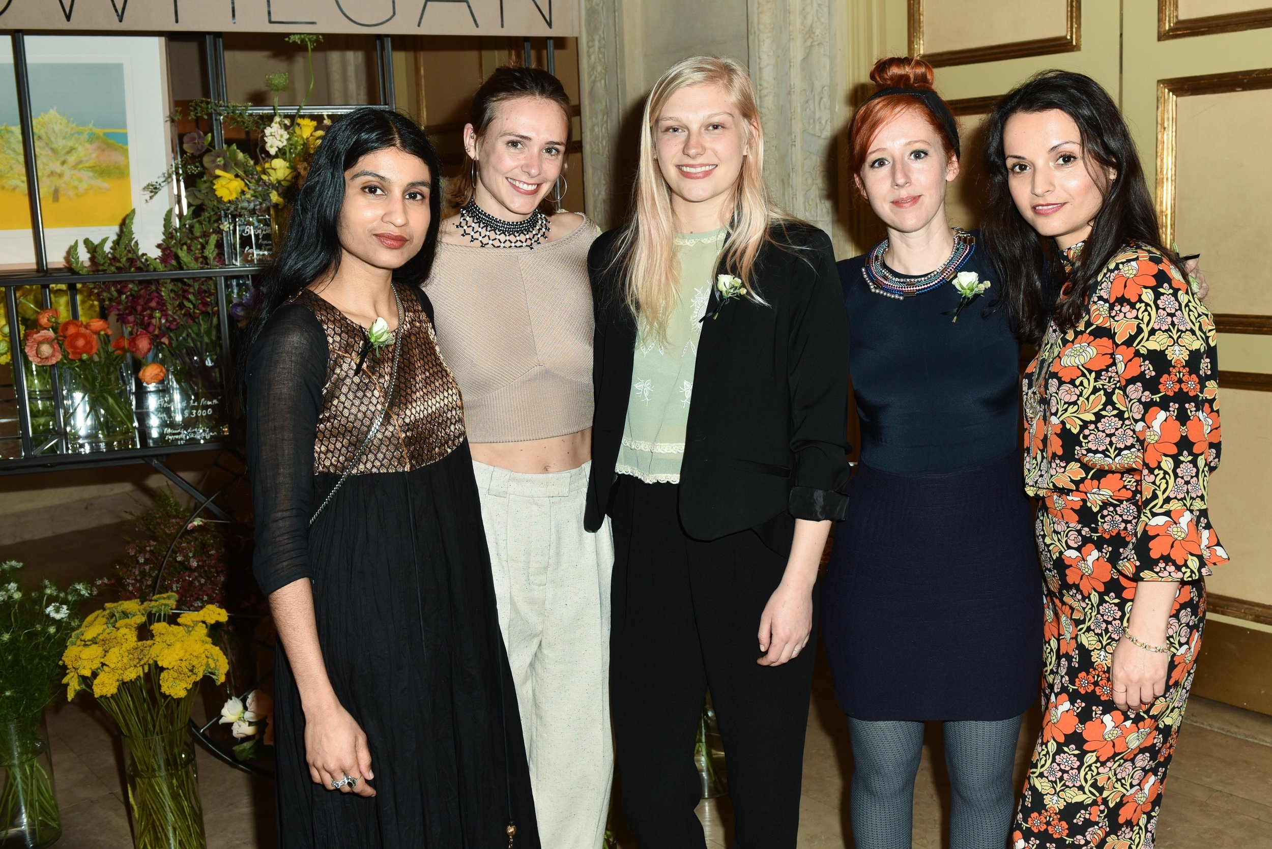 Baseera Khan, Jamie McCuaig, Rosie Dooley, Clare Torina, Irini Miga