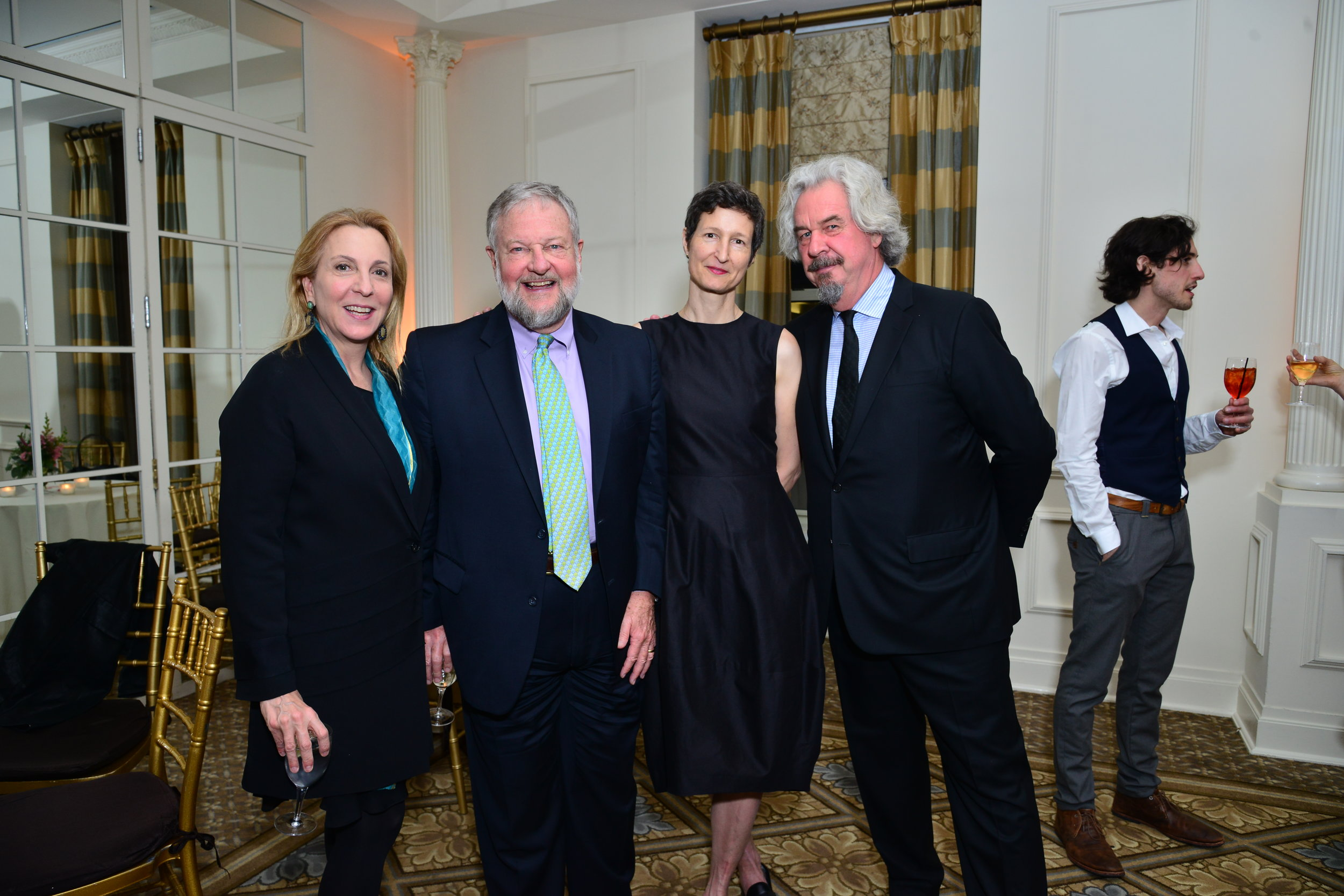Susan Rockefeller, David Rockefeller, Kate Shepherd, Jack Shear==Skowhegan 70th Anniversary Celebration & 2016 Awards Dinner== The Plaza, NYC==April 26, 2016==�Patrick McMullan==Photo � Jared Siskin/PMC==