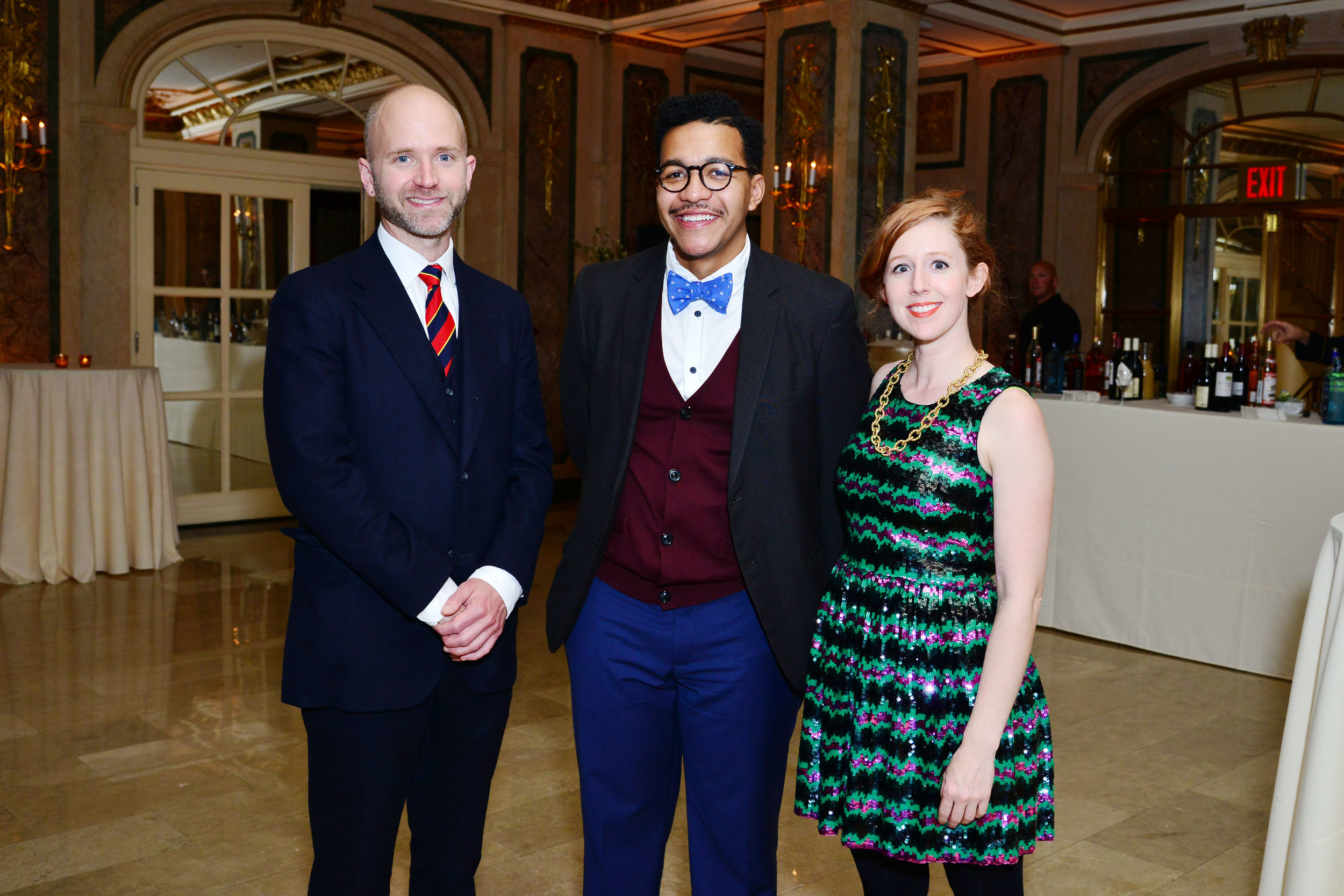 Sean McElroy, Troy Michie, Claire Torina==
