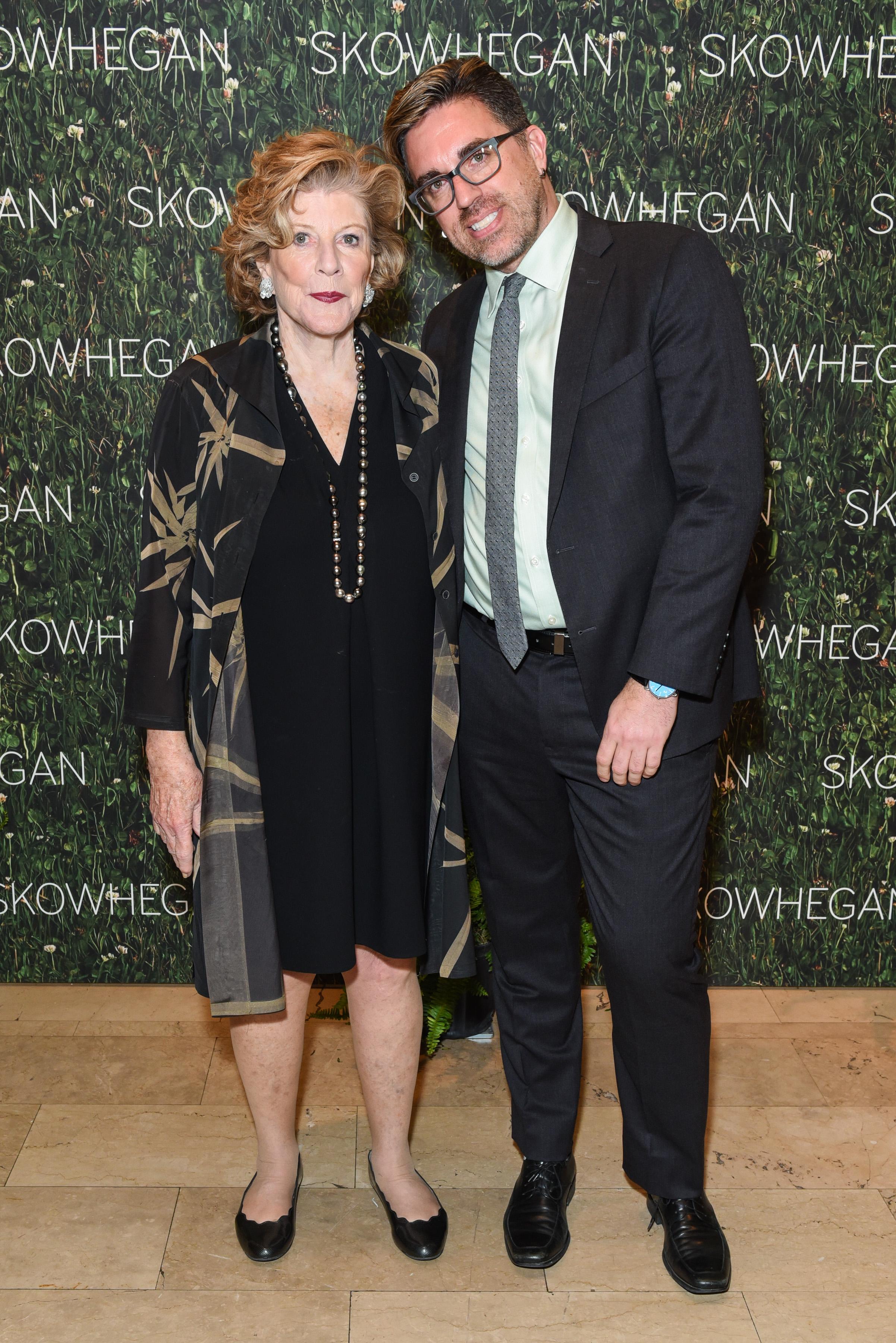 Agnes Gund, Jamie Bennett==Skowhegan Awards Dinner 2018==The Plaza Hotel, New York, NY==April 24, 2018==�Patrick McMullan==Photo - Presley Ann/PMC====