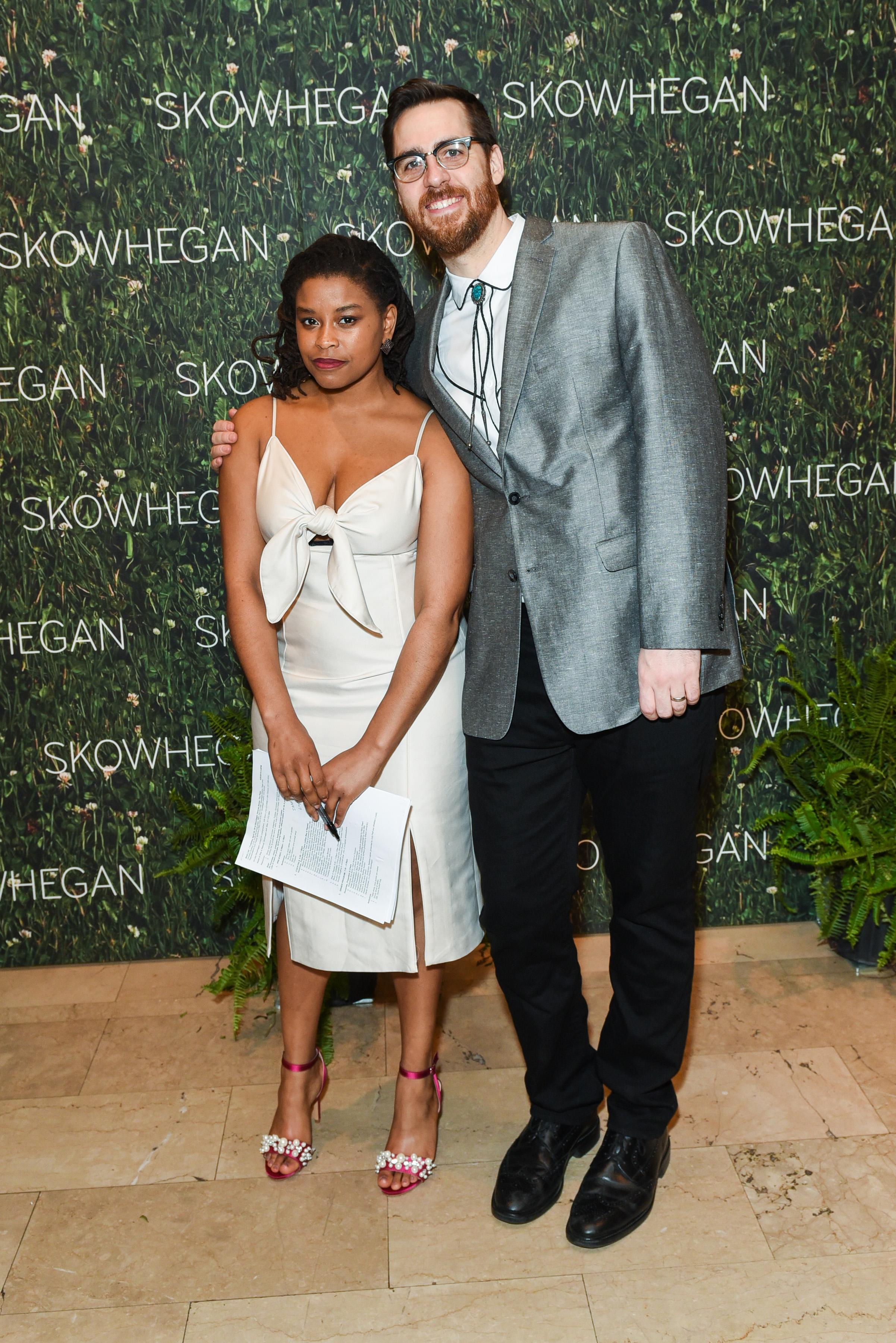 Corin Spencer, ?==Skowhegan Awards Dinner 2018==The Plaza Hotel, New York, NY==April 24, 2018==�Patrick McMullan==Photo - Presley Ann/PMC====